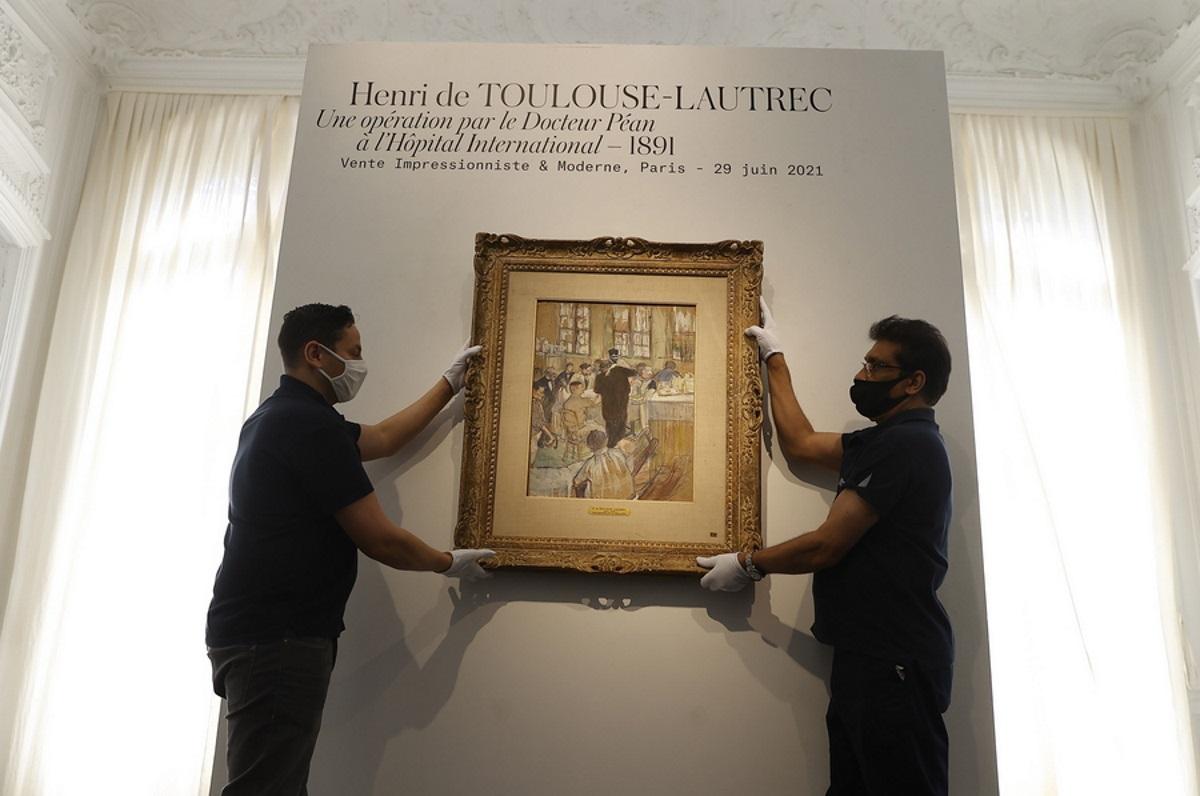 Στο «σφυρί» μοναδικός πίνακας του Τουλούζ Λοτρέκ – Απεικονίζει χειρουργική επέμβαση (pics)