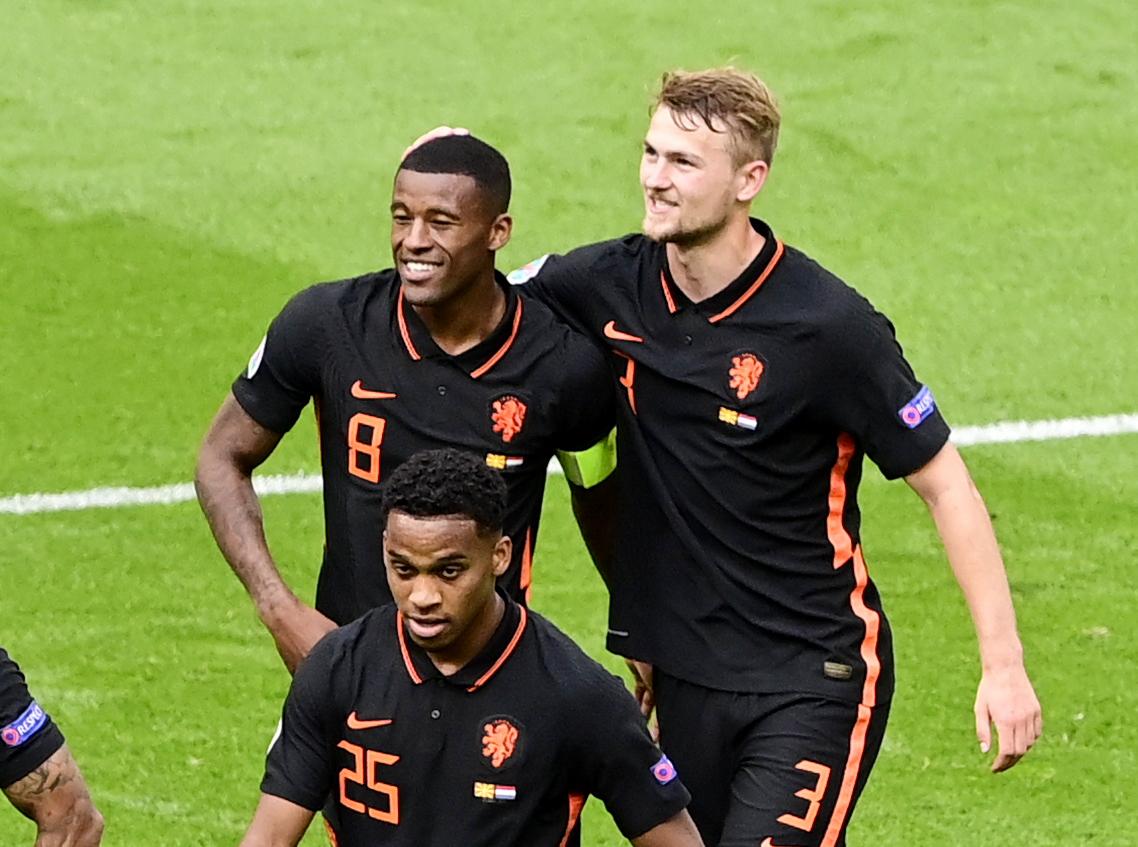 Euro 2020: Ο Βαϊνάλντουμ «χτύπησε» δις για την Ολλανδία και «καθάρισε» τη Βόρεια Μακεδονία