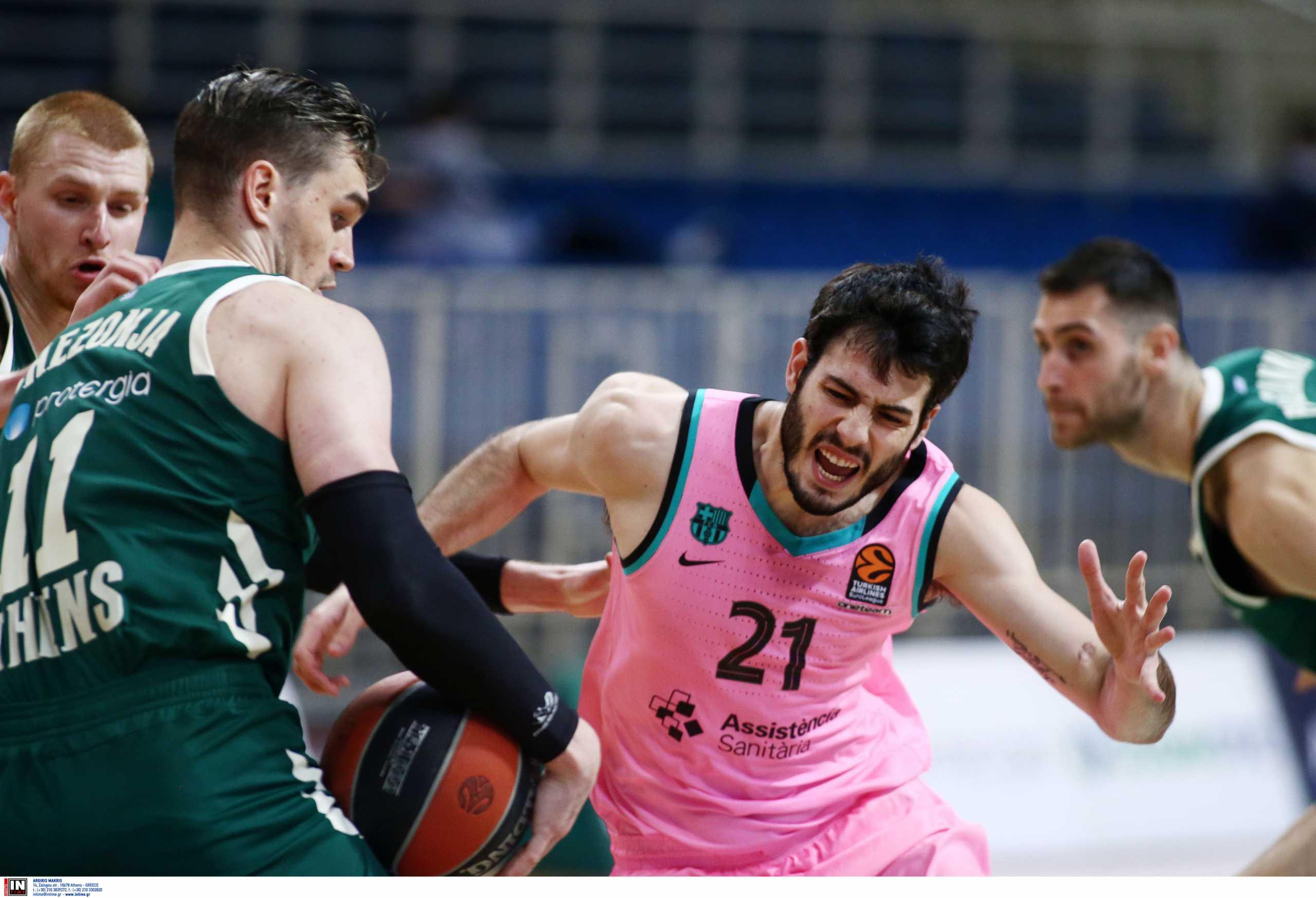 Μπαρτσελόνα – Euroleague: Νοκ άουτ για τέσσερις μήνες ο Αμπρίνες
