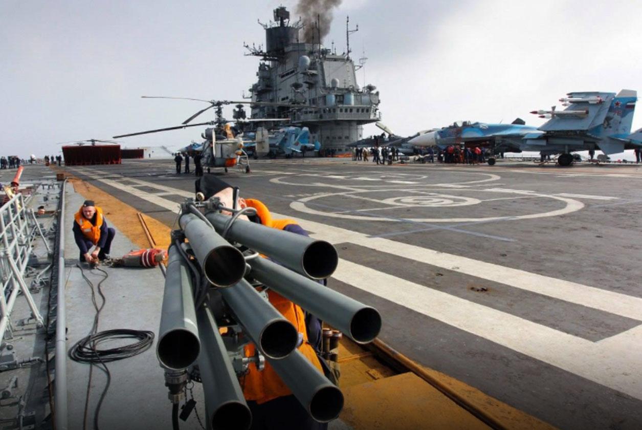 Admiral Kuznetsov: Νέο πρόβλημα προέκυψε στο ρωσικό «άτυχο» αεροπλανοφόρο