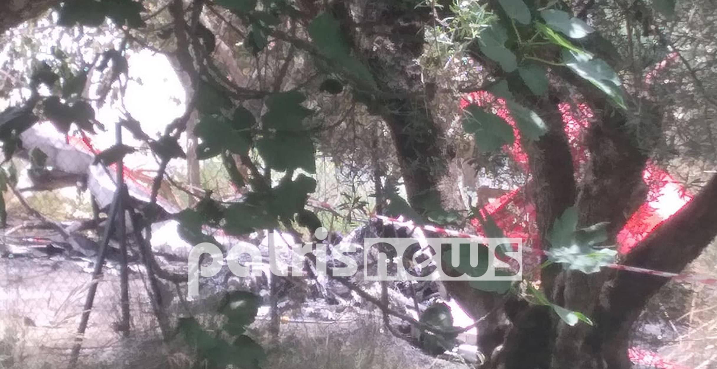 Πύργος: Κλιμάκιο της Πολιτικής Αεροπορίας στην Χαριά για να ερευνήσει τα αίτια της τραγωδίας (pics,video)