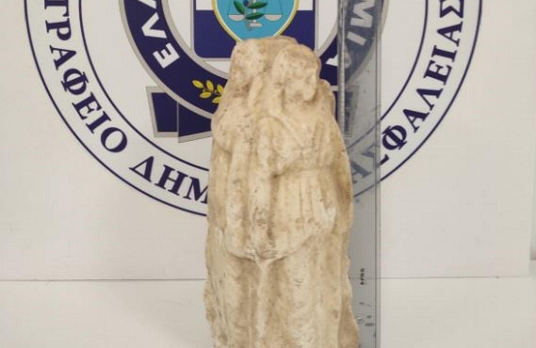 Κιλκίς: Προσπάθησαν να πουλήσουν αρχαίο αγαλματίδιο για 40.000 ευρώ