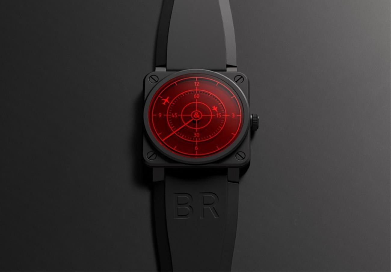 Το νέο ρολόι της Bell & Ross διαθέτει ένα καθηλωτικό καντράν
