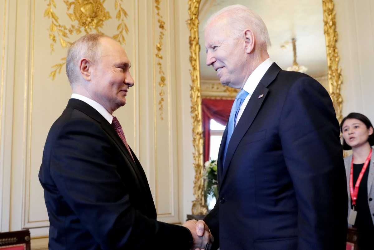 Μπάιντεν - Πούτιν: Ξεκίνησε η κρίσιμη συνάντηση - Οι πρώτες εικόνες [pics] | OnAlert