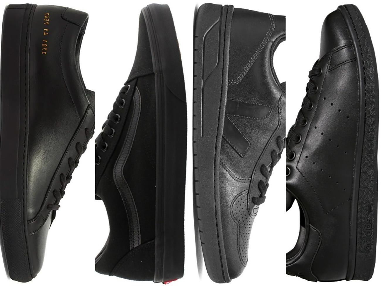 10 μαύρα sneakers που μπορείς να φοράς όλες τις εποχές του χρόνου