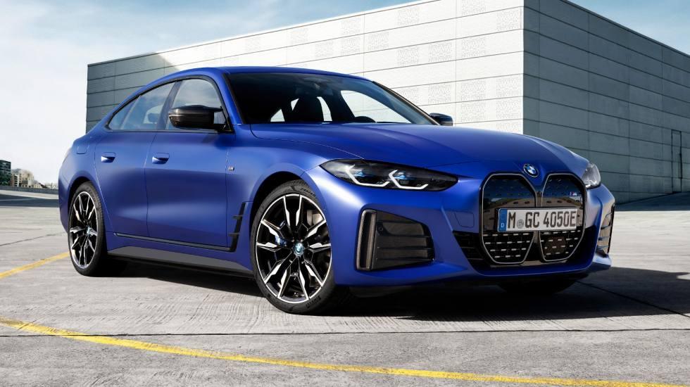 Η BMW αποκάλυψε τα ηλεκτρικά i4 eDrive 40 και i4 M50 (video)