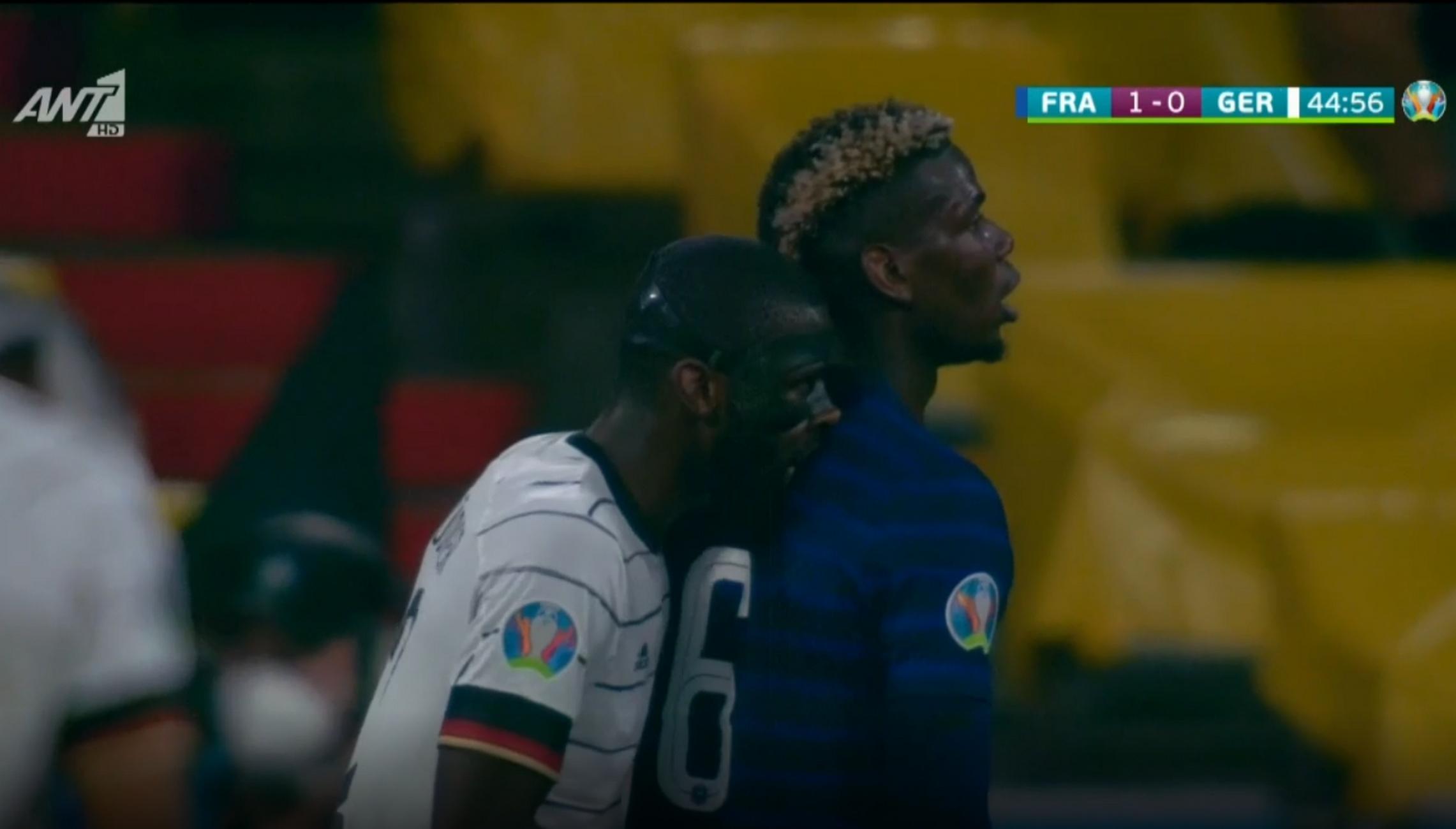 Euro 2020, Γαλλία – Γερμανία: Ο Ρίντιγκερ δάγκωσε τον Πογκμπά