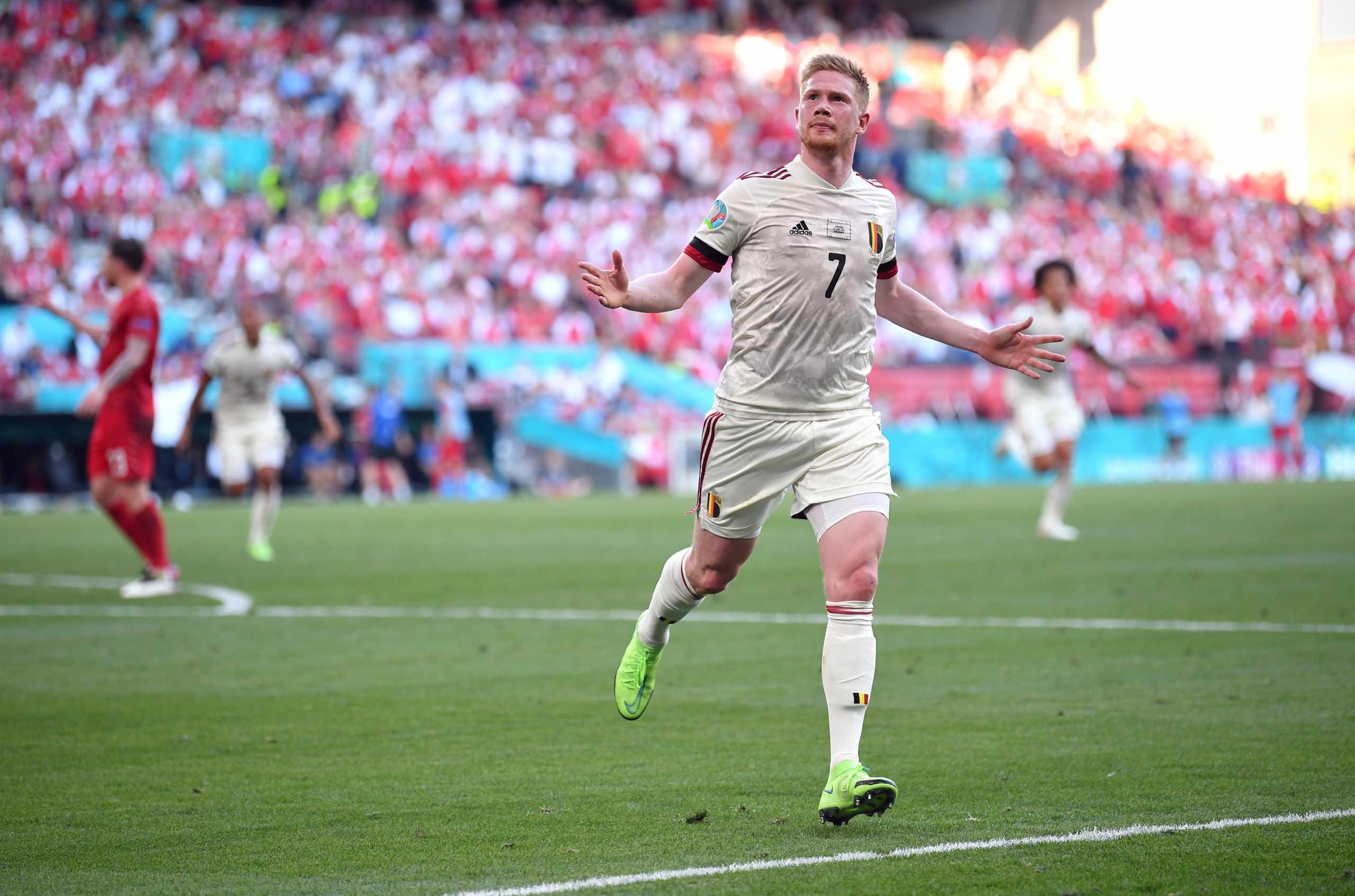 Euro 2020, Δανία – Βέλγιο 1-2: «Μυθικός» Ντε Μπρόινε οδήγησε σε ανατροπή