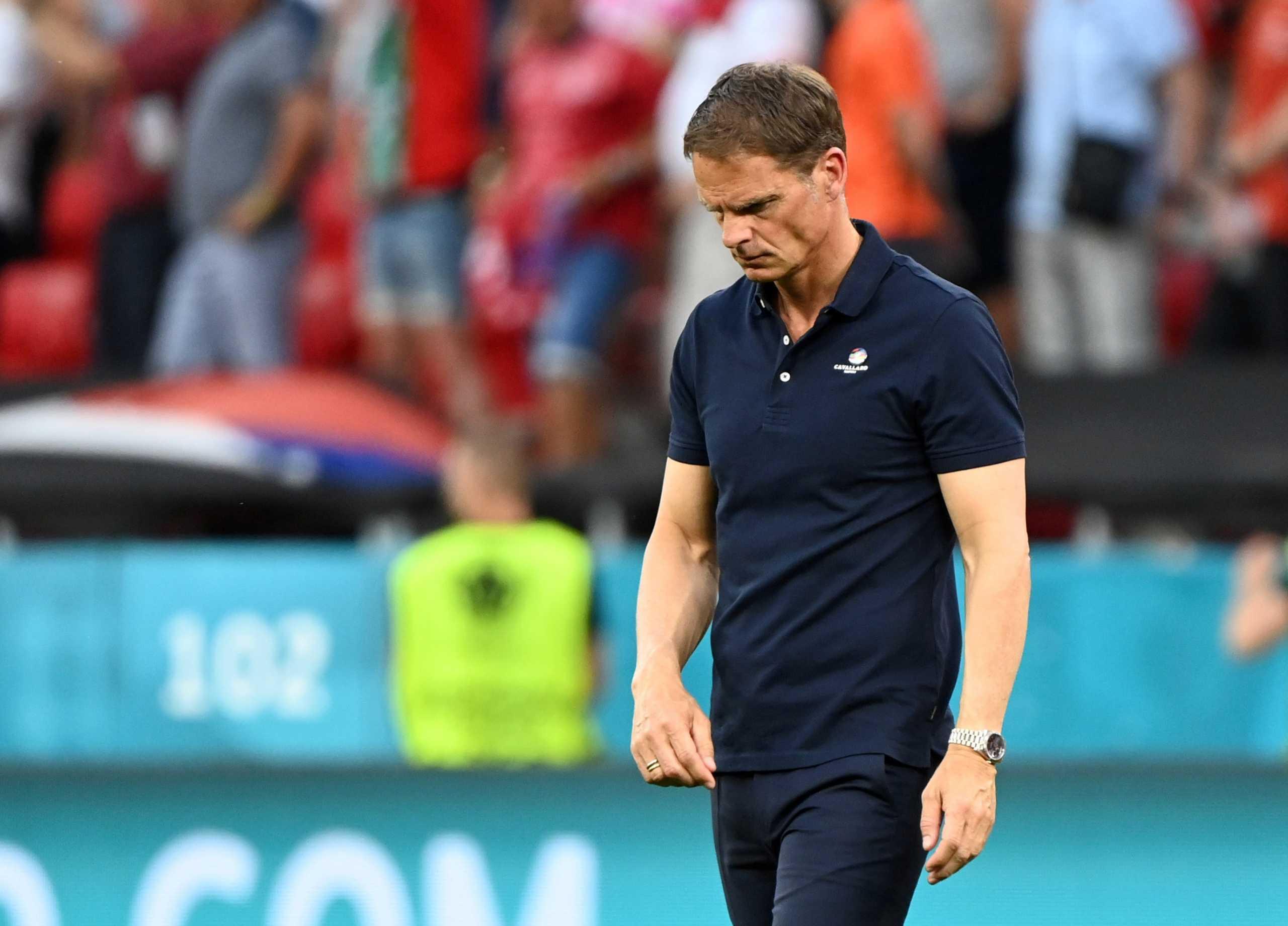 Euro 2020: Τέλος ο Φρανκ Ντε Μπουρ από τον πάγκο της Εθνικής Ολλανδίας