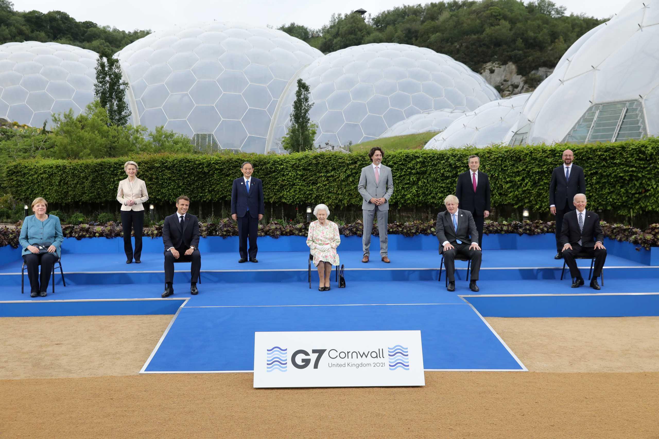 Βρετανία: Δεξίωση από τη βασίλισσα Ελισάβετ στους ηγέτες της G7