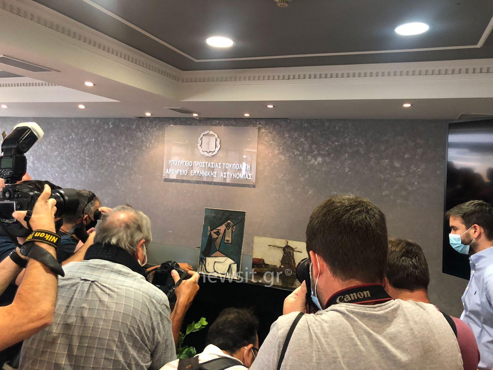 Εθνική Πινακοθήκη: 49χρονος οικοδόμος πατέρας 2 παιδιών ο δράστης της κλοπής του Πικάσο και του Μοντριάν