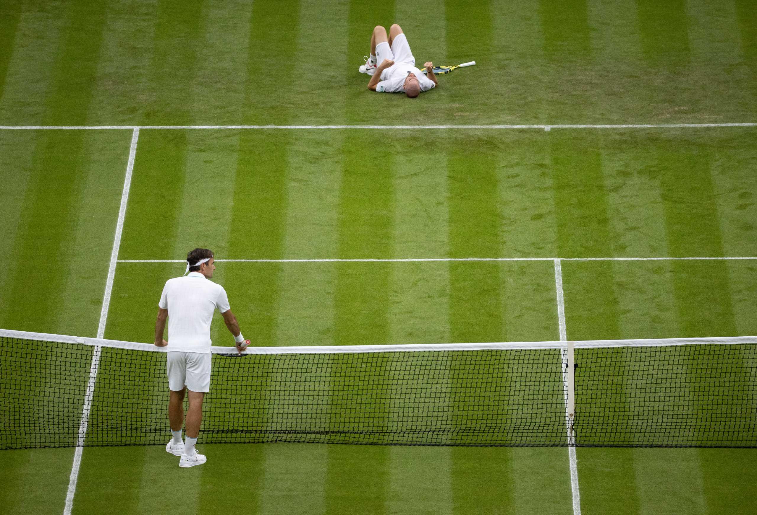 Wimbledon: Προκρίθηκε με 2-2 ο Φέντερερ