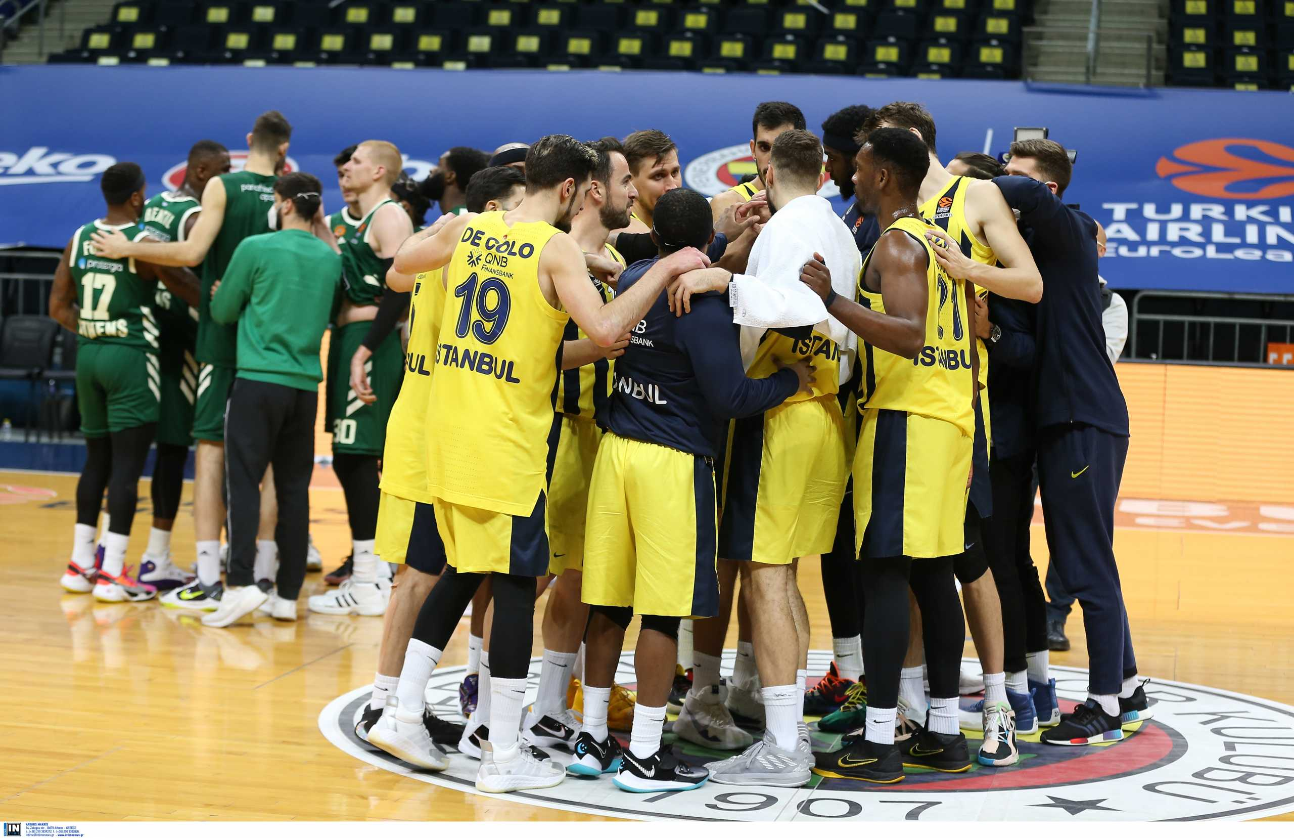 Euroleague: «Σκούπα» στη Φενέρμπαχτσε με πέντε παίκτες στην έξοδο