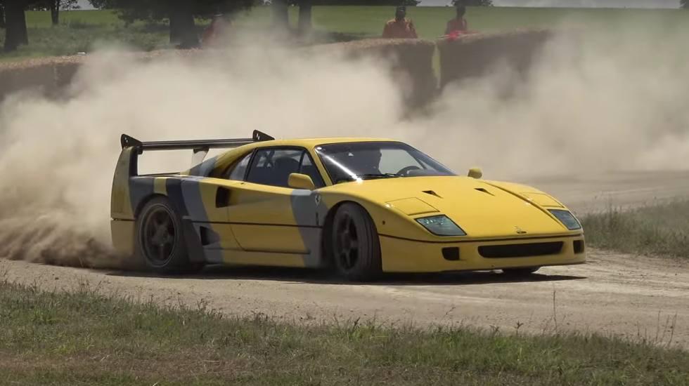 Γεύση από Ράλι Ακρόπολις με… μια Ferrari F40! (video)