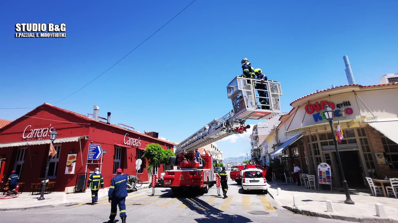 Ναύπλιο: Αναστάτωση από φωτιά σε εστιατόριο – Οι Πυροσβέστες απέτρεψαν τα χειρότερα