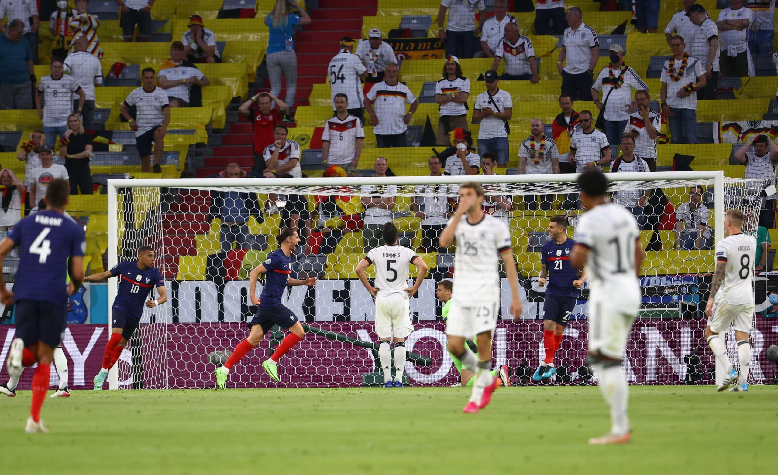 Euro 2020, Γαλλία – Γερμανία 1-0: Το VAR γλίτωσε τα «Πάντσερ» από τριάρα