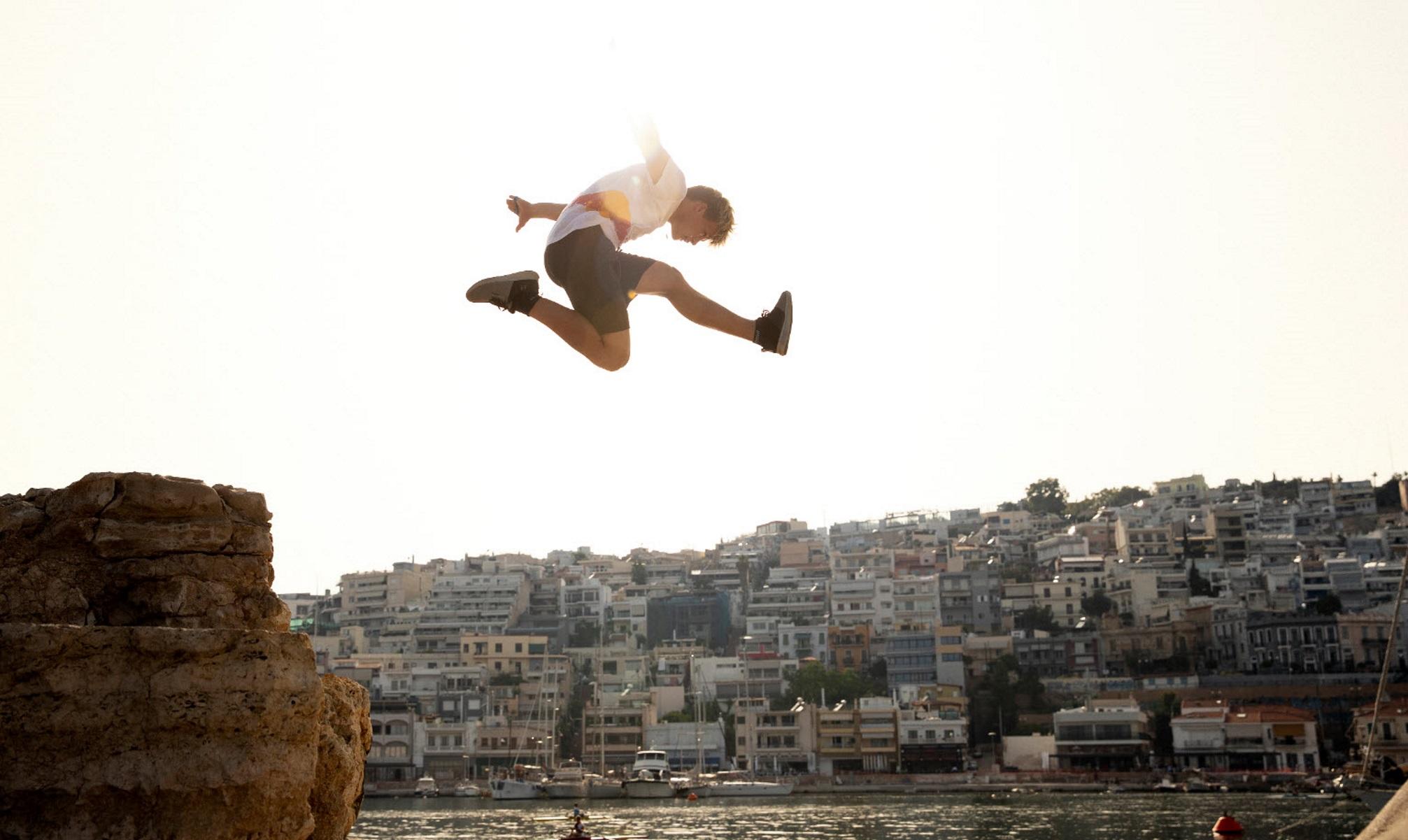 Ο κορυφαίος διεθνής αγώνας freerunning στον Πειραιά (pics, vid)