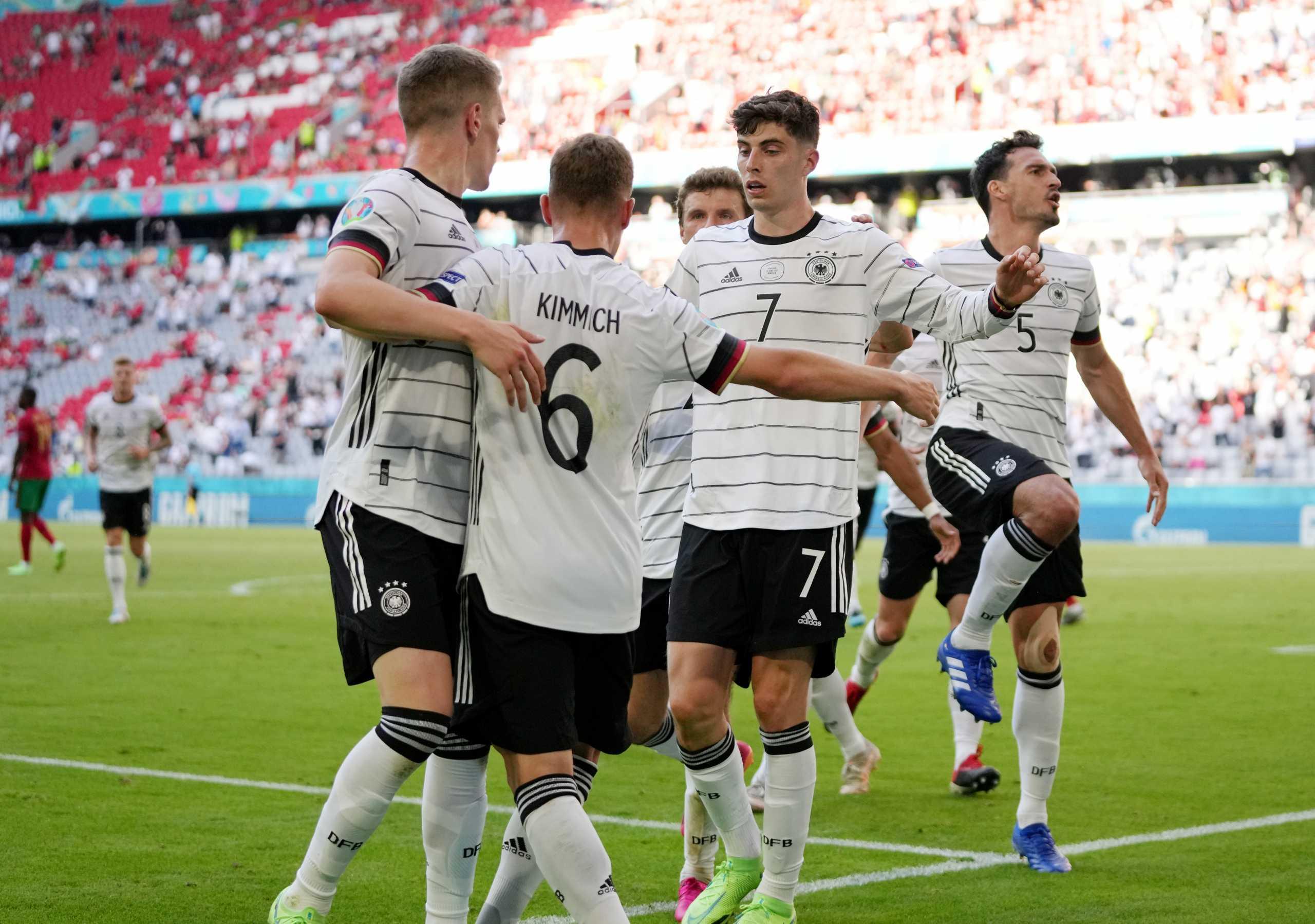 Euro 2020, Πορτογαλία – Γερμανία 2-4: Φοβερό παιχνίδι με τεσσάρα από τα «Πάντσερ»
