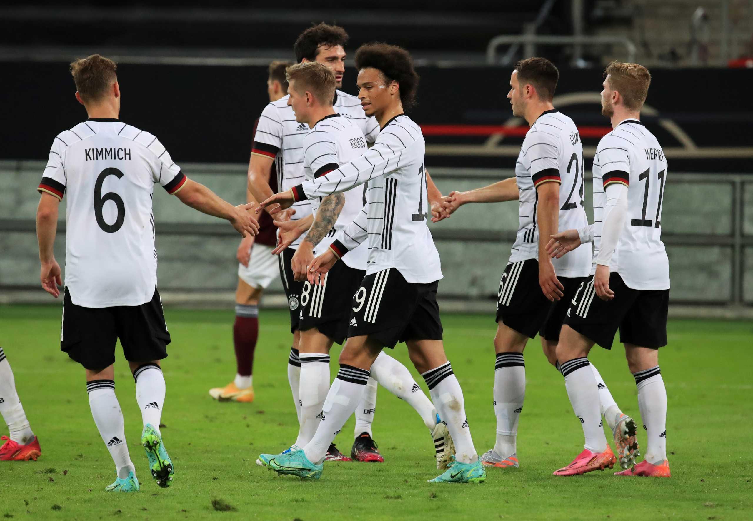 Η Γερμανία έριξε επτά γκολ στη Λετονία πριν το Euro
