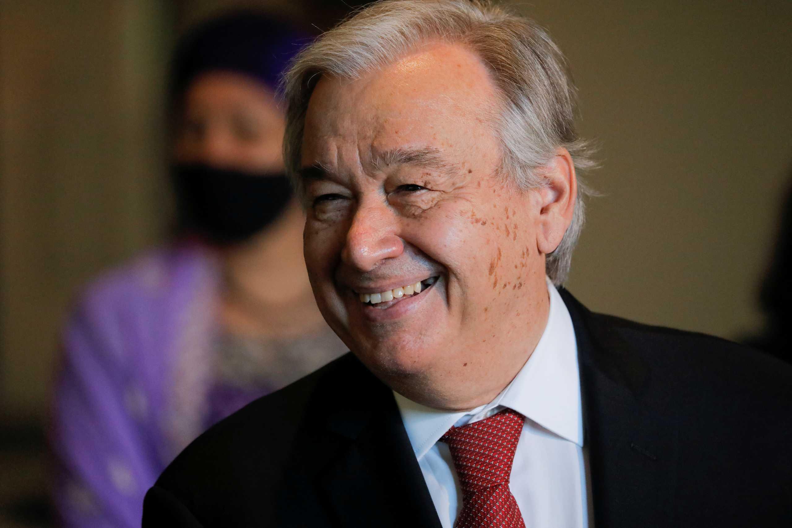Δεύτερη θητεία στον ΟΗΕ για τον Αντόνιο Γκουτέρες