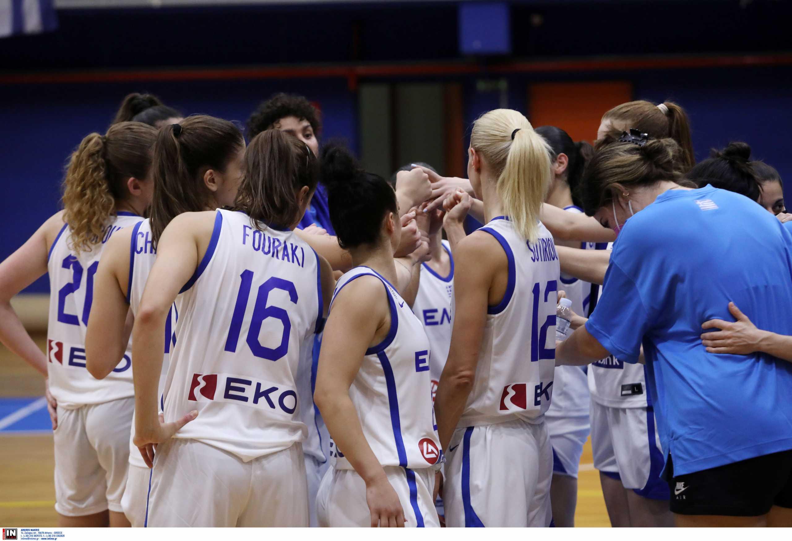 Εθνική Ελλάδας: Με το «αριστερό» στο Ευρωμπάσκετ γυναικών