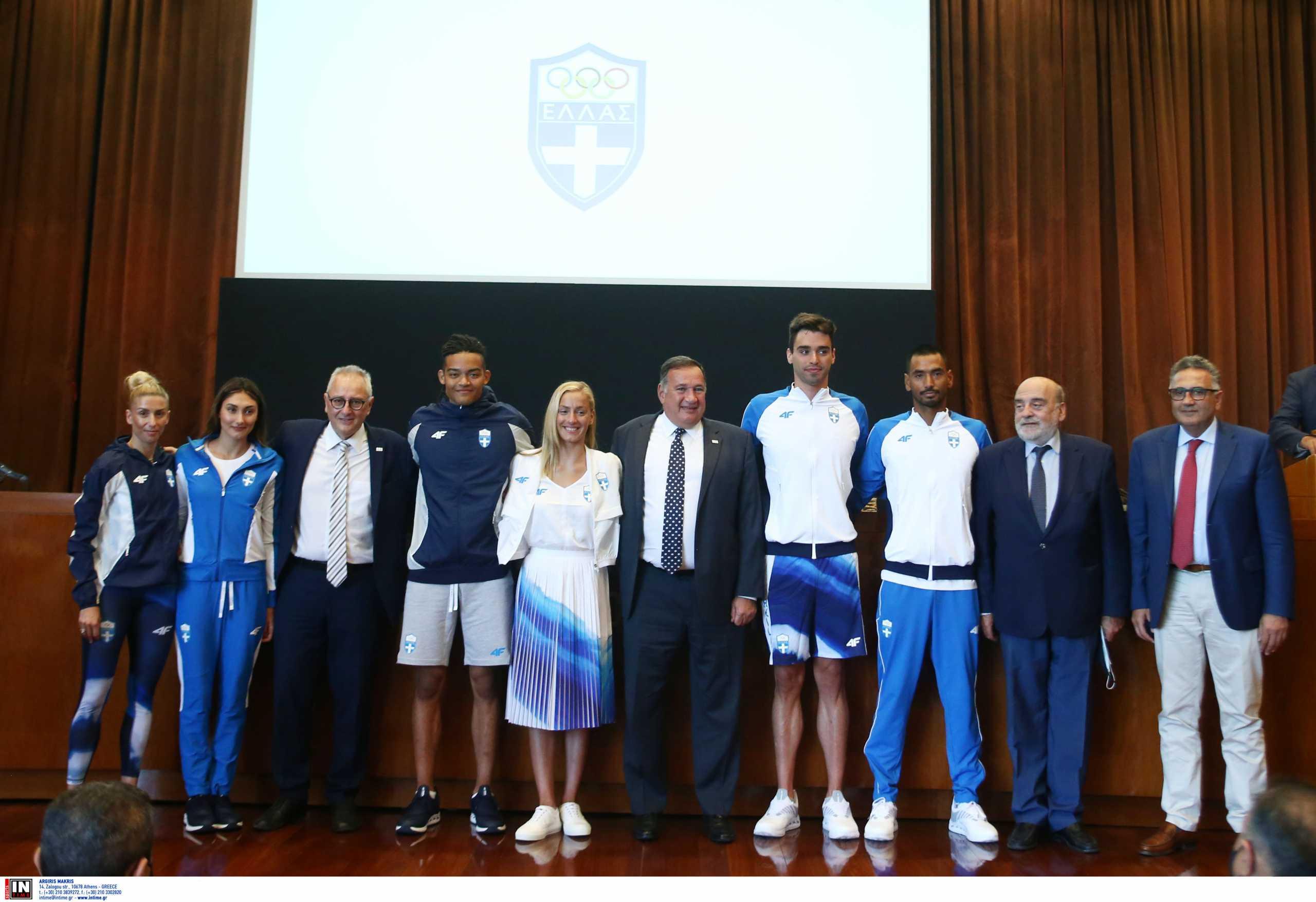 Η παρουσίαση της επίσημης στολής της ελληνικής ομάδας για τους Ολυμπιακούς Αγώνες Τόκιο 2020