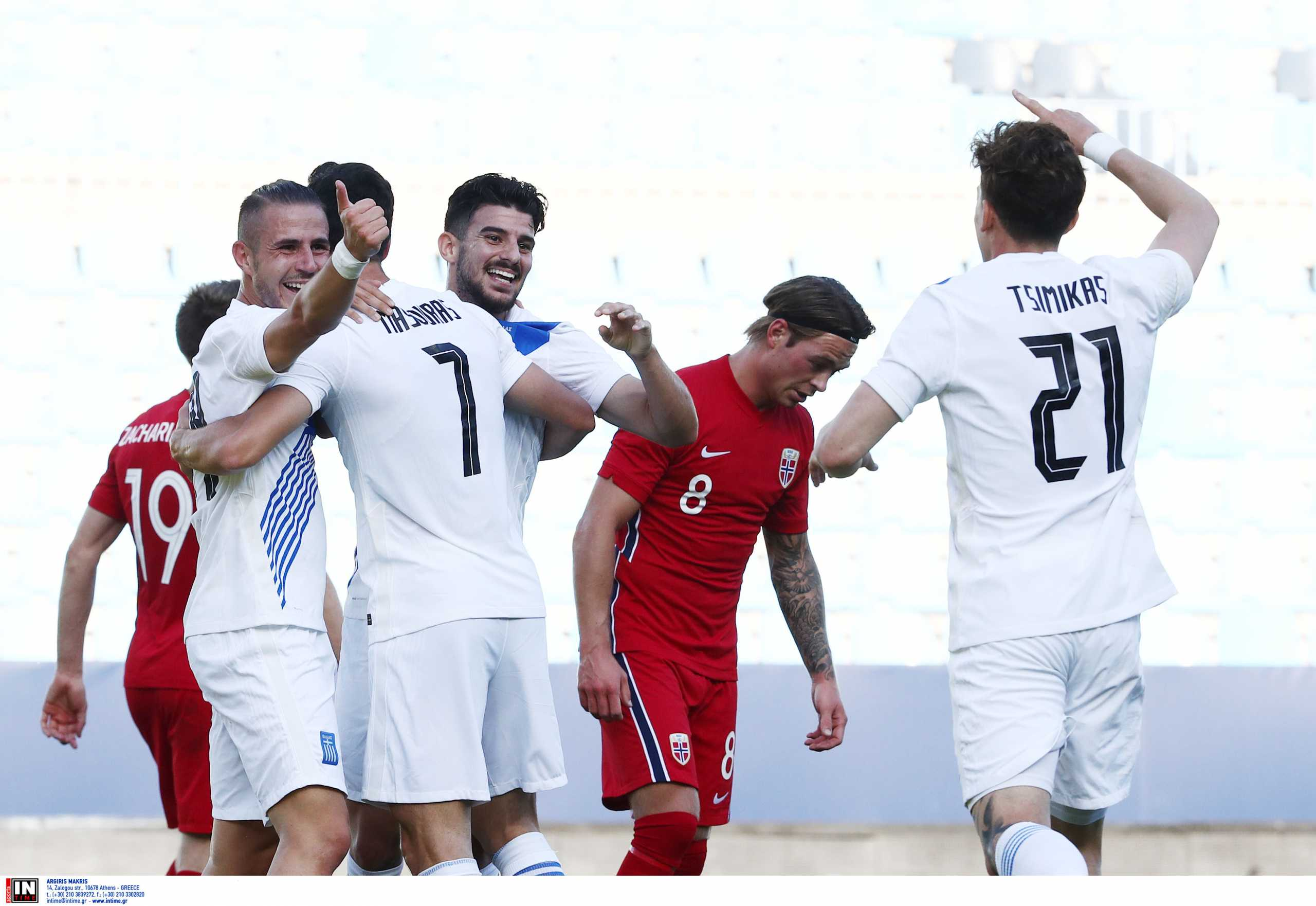 Νορβηγία – Ελλάδα: Εξαιρετικό φινάλε στη σεζόν για την Εθνική