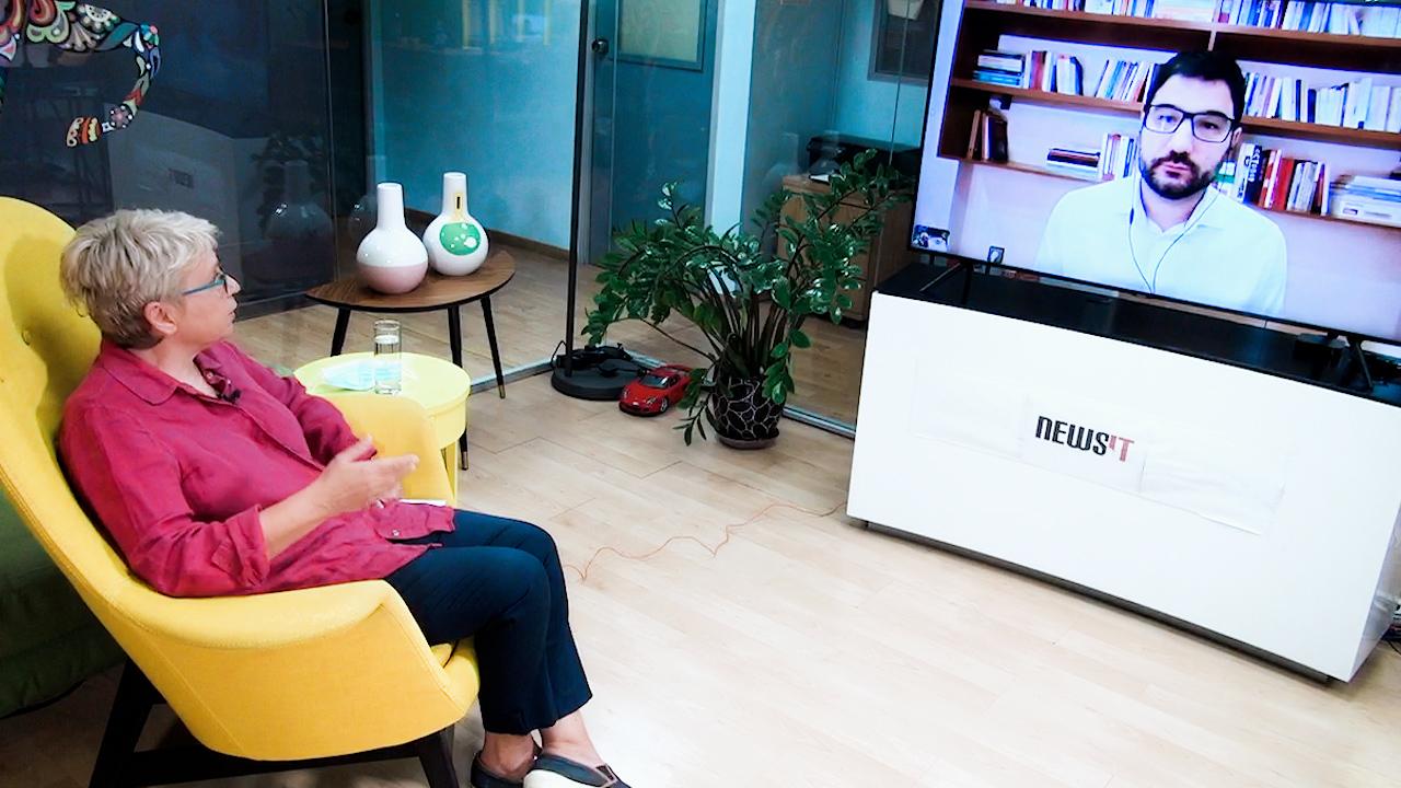 Νάσος Ηλιόπουλος στο newsit.gr: Η κυβέρνηση διαλύει τις εργασιακές σχέσεις – Καταψηφίζουμε το εργασιακό