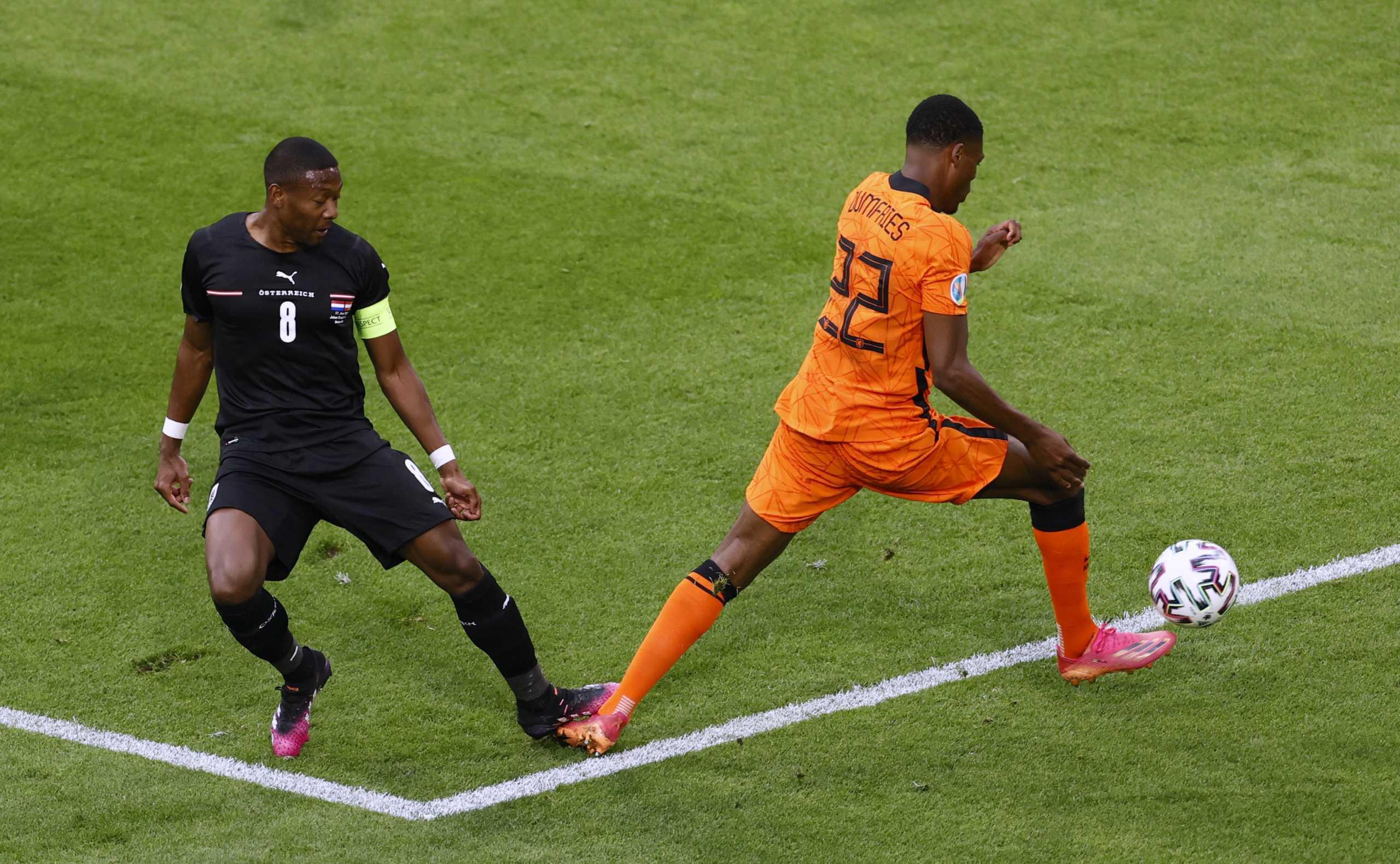 Euro 2020, Ολλανδία – Αυστρία: Οριακό πέναλτι του Αλάμπα δόθηκε μέσω VAR