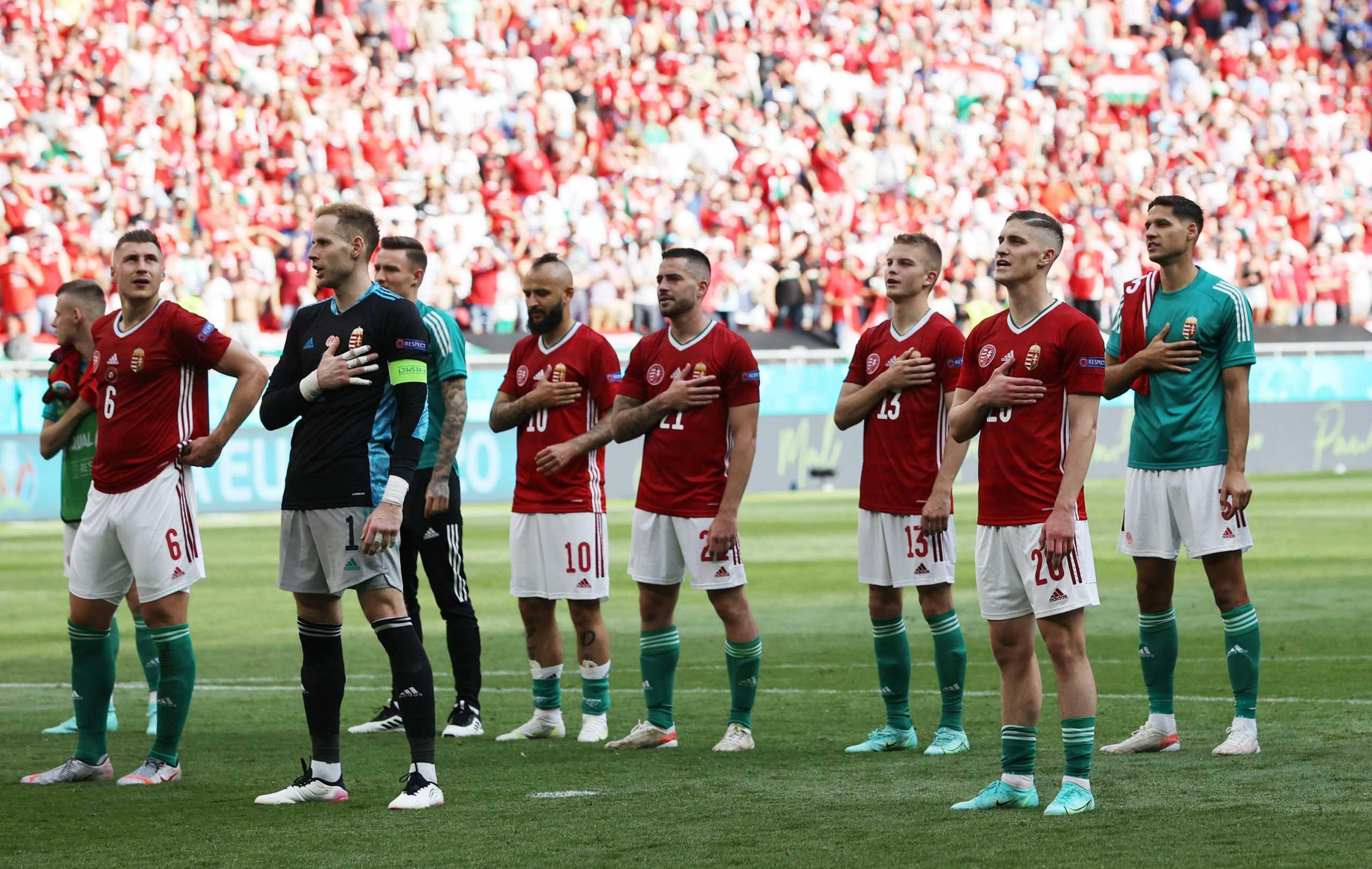 Euro 2020: Αποθέωση και «πανηγύρι» στην Ουγγαρία για την ισοπαλία