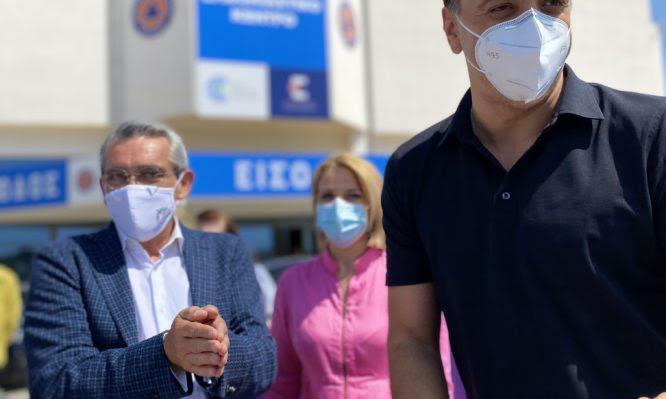 Κικίλιας: Έκκληση από τη Ρόδο στους εργαζόμενους στον τουρισμό να εμβολιαστούν