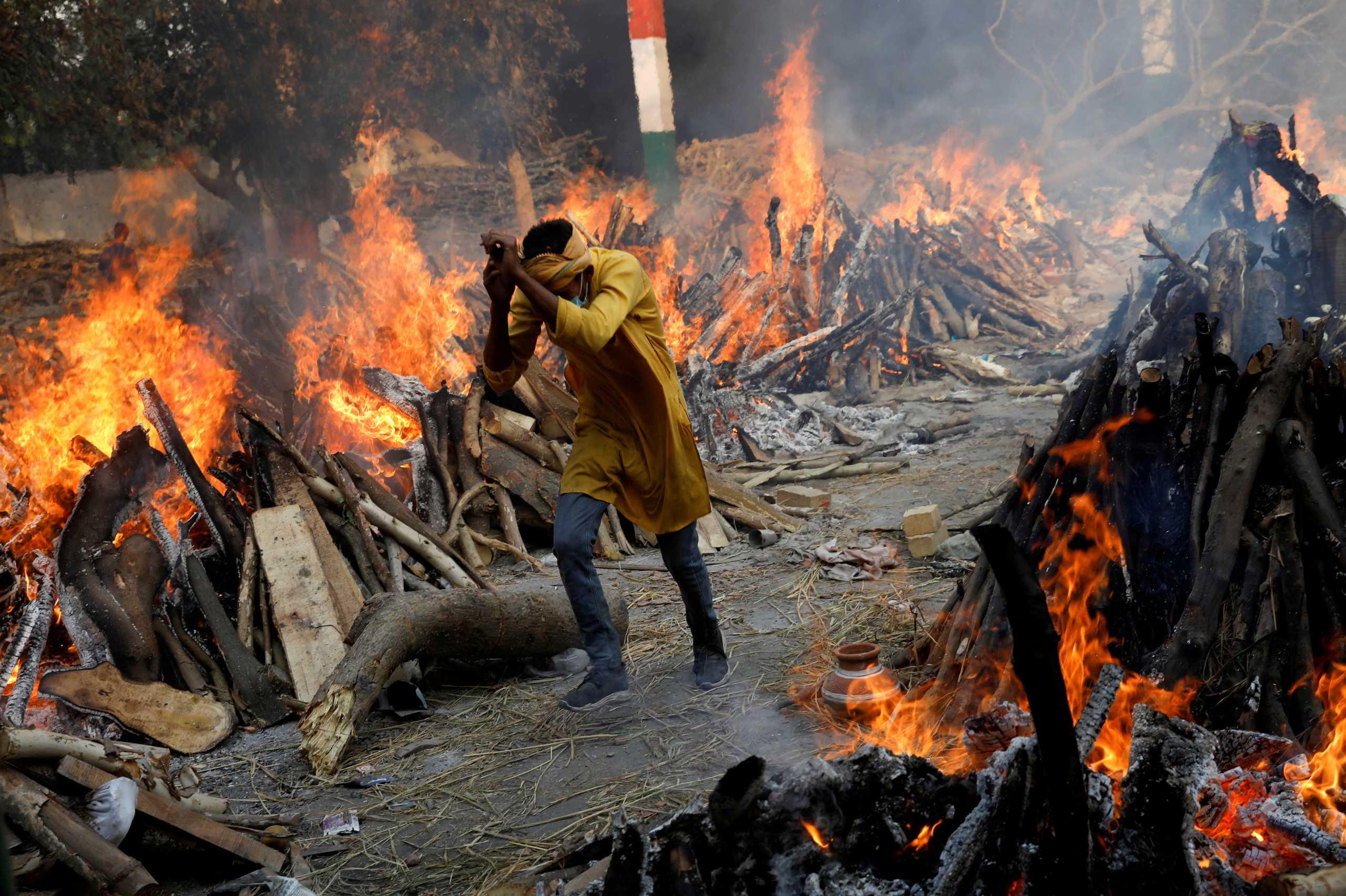 Ινδία: 490 θάνατοι από κορονοϊό και 41.195 κρούσματα το τελευταίο 24ωρο