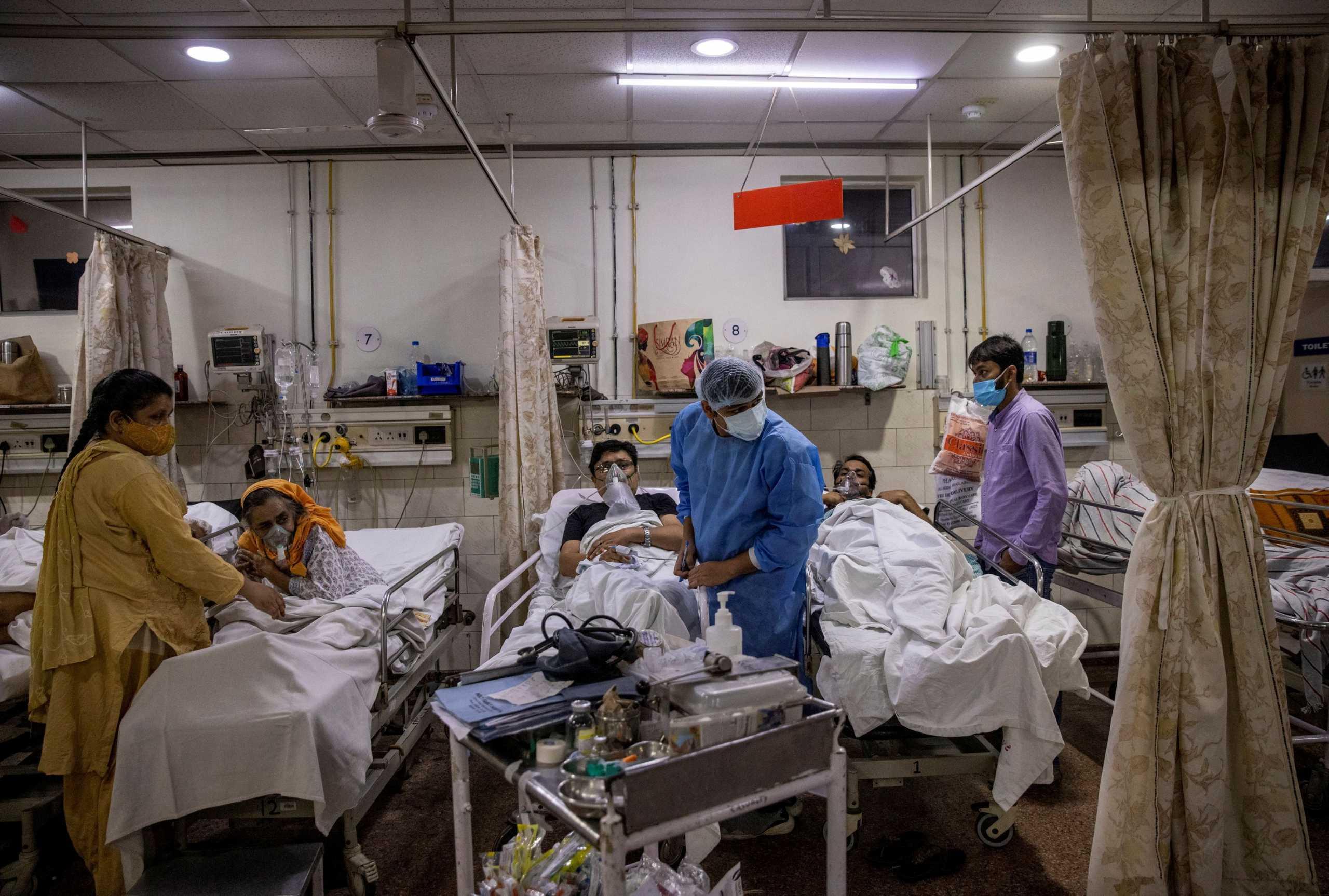 Ινδία: 640 νεκροί από κορονοϊό και πάνω από 43.000 κρούσματα το τελευταίο 24ωρο