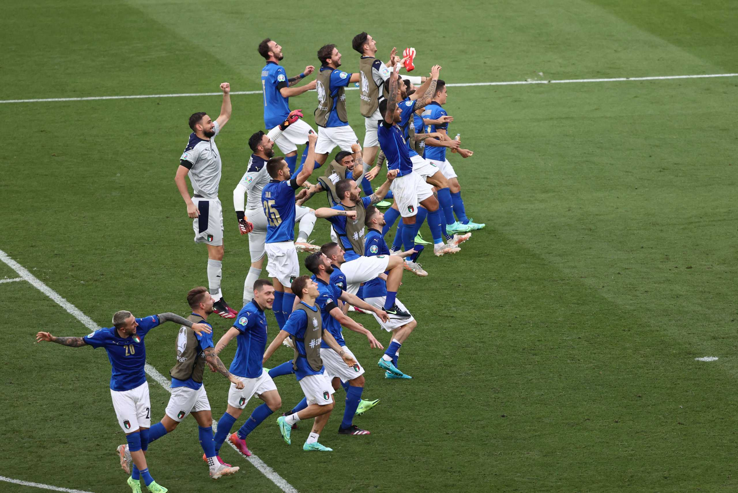 Euro 2020, Ιταλία – Ουαλία 1-0:  Πρώτη και καλύτερη στους «16» η «σκουάντρα ατζούρα»