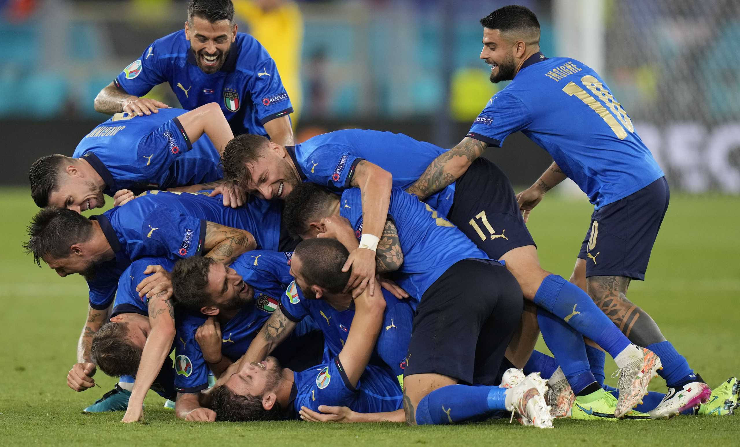 Euro 2020, Ιταλία – Ελβετία 3-0: Έστειλαν μηνύματα οι φοβεροί Ιταλοί