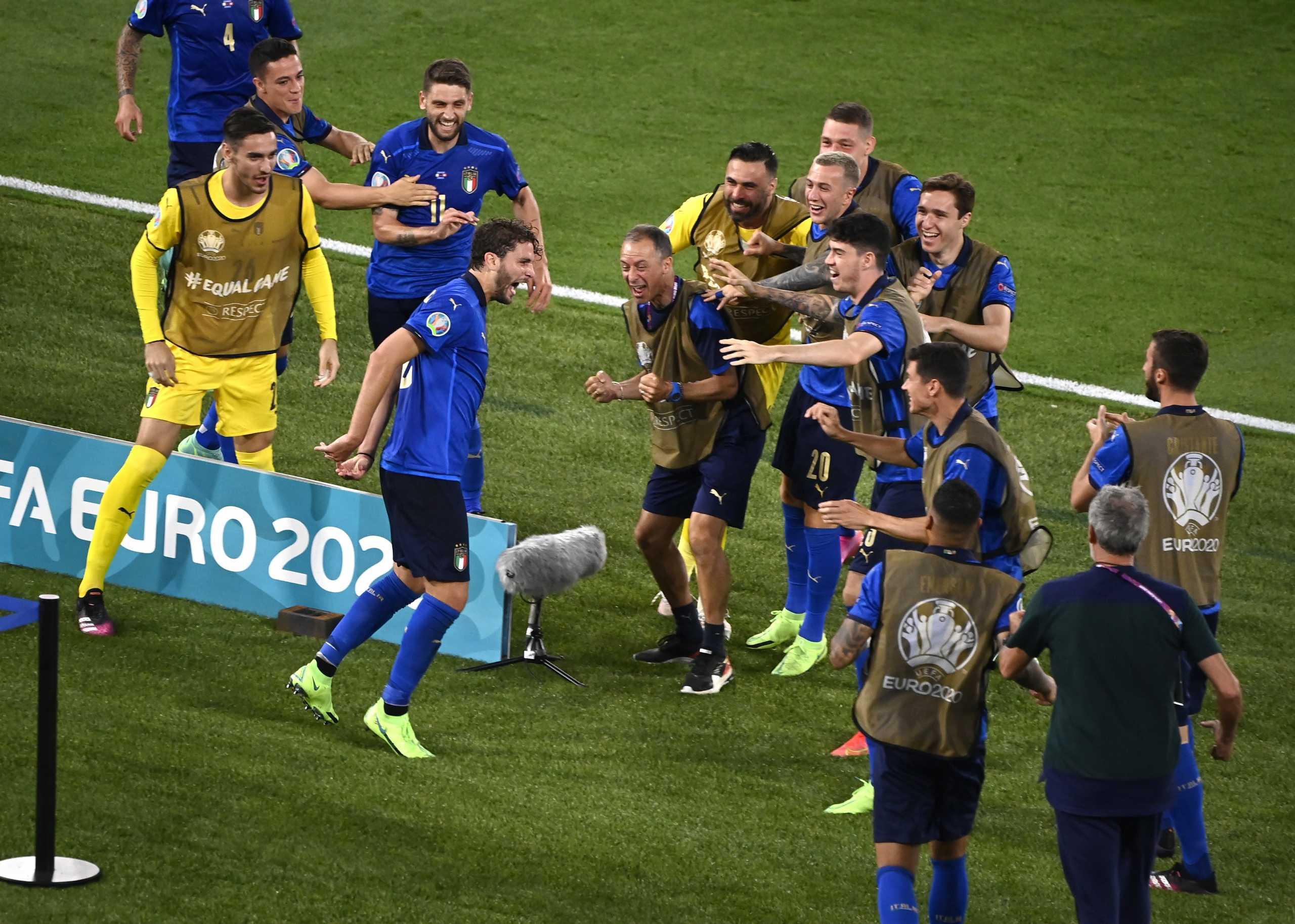 Euro 2020: Φοβεροί Ιταλοί, έκρυψαν την μπάλα και την εμφάνισαν στα δίχτυα της Ελβετίας