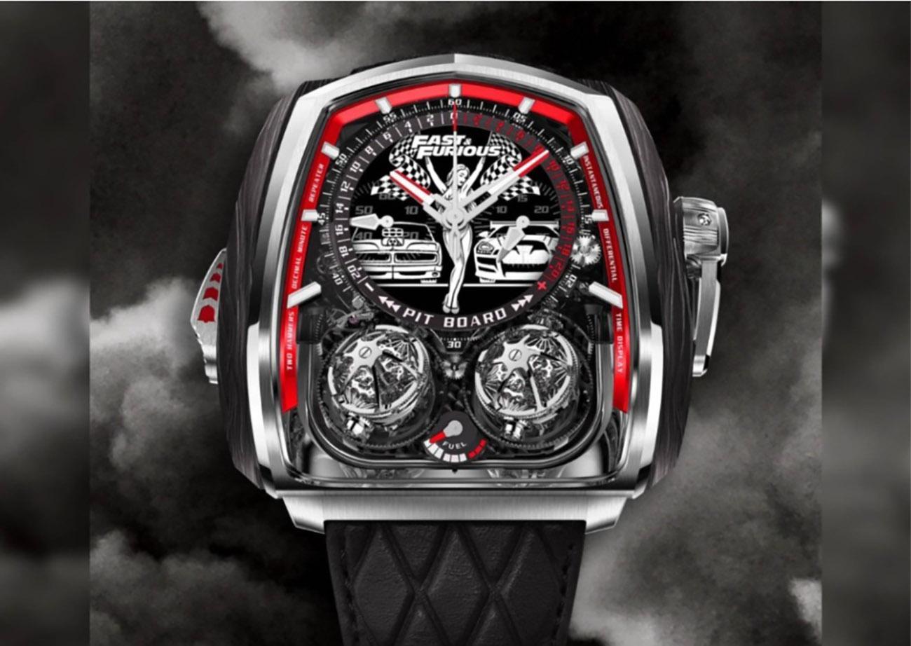 """Ένα ρολόι 580.000 δολαρίων που είναι αφιερωμένο στην ταινία """"Fast & Furious"""""""