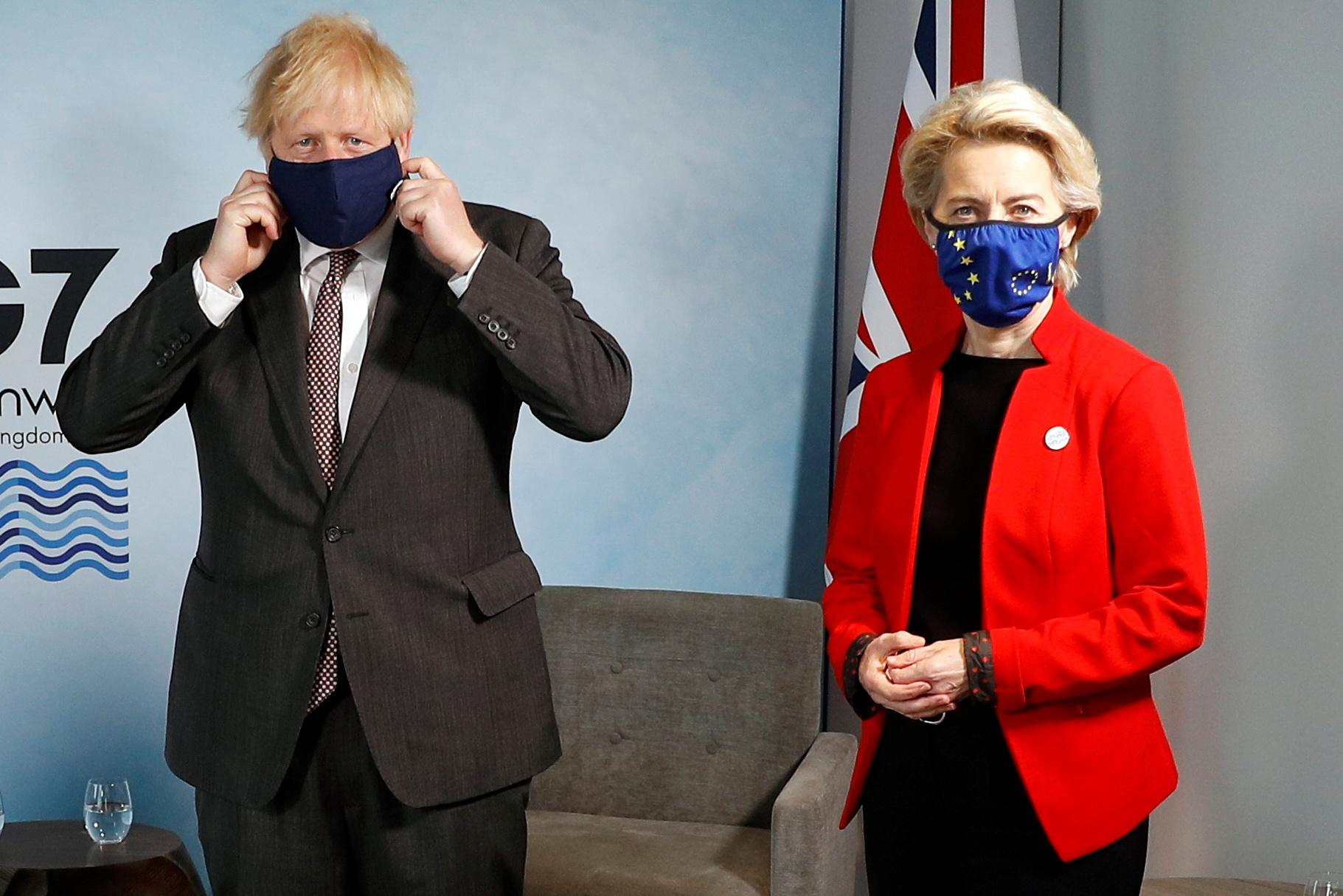 Brexit: Ο Τζόνσον καλεί την φον ντερ Λάιεν να «ξεπεράσουν το αδιέξοδο» με την Βόρεια Ιρλανδία