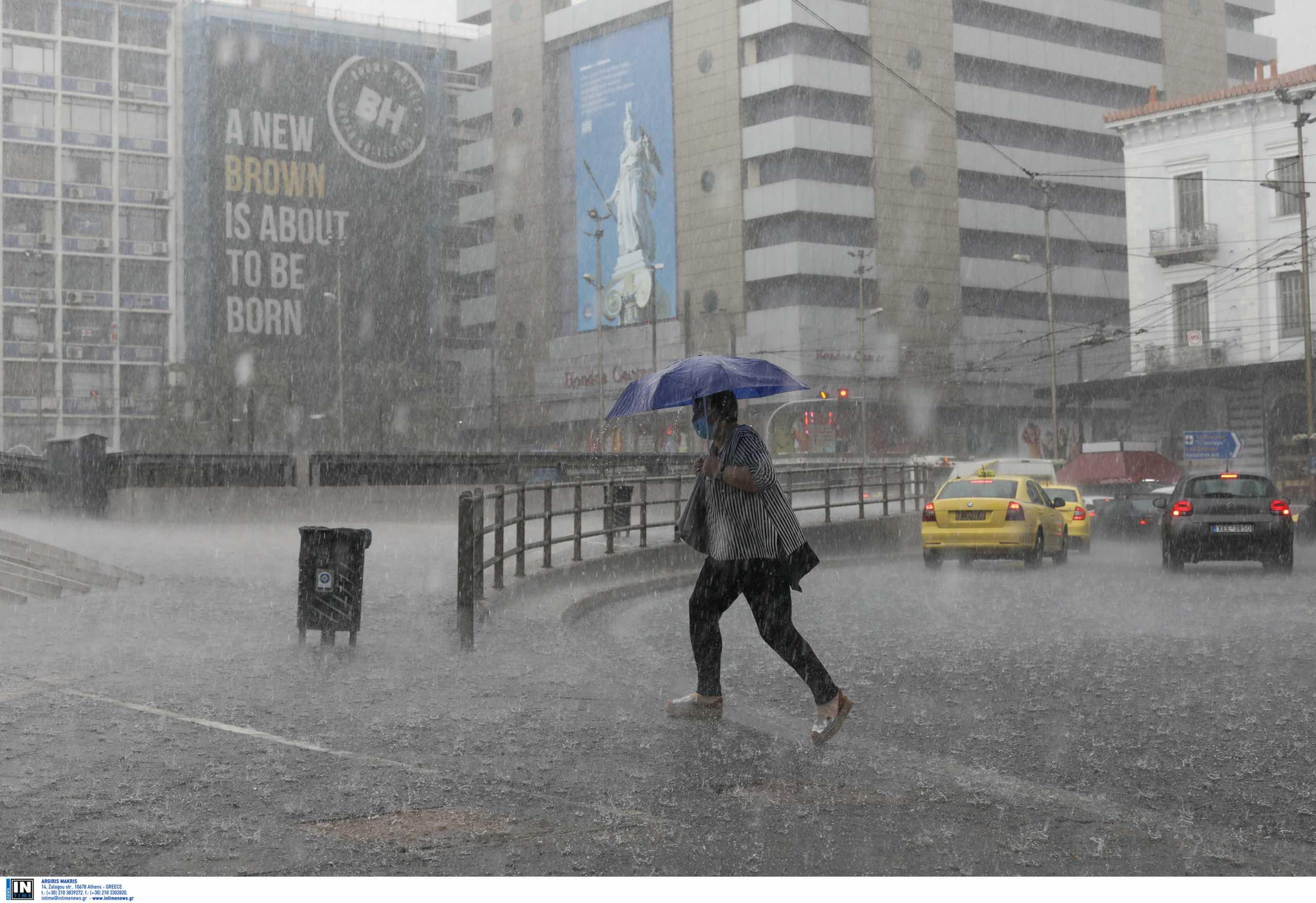 Καιρός αύριο: Βροχές, καταιγίδες και 9 μποφόρ – Πέφτει ο υδράργυρος