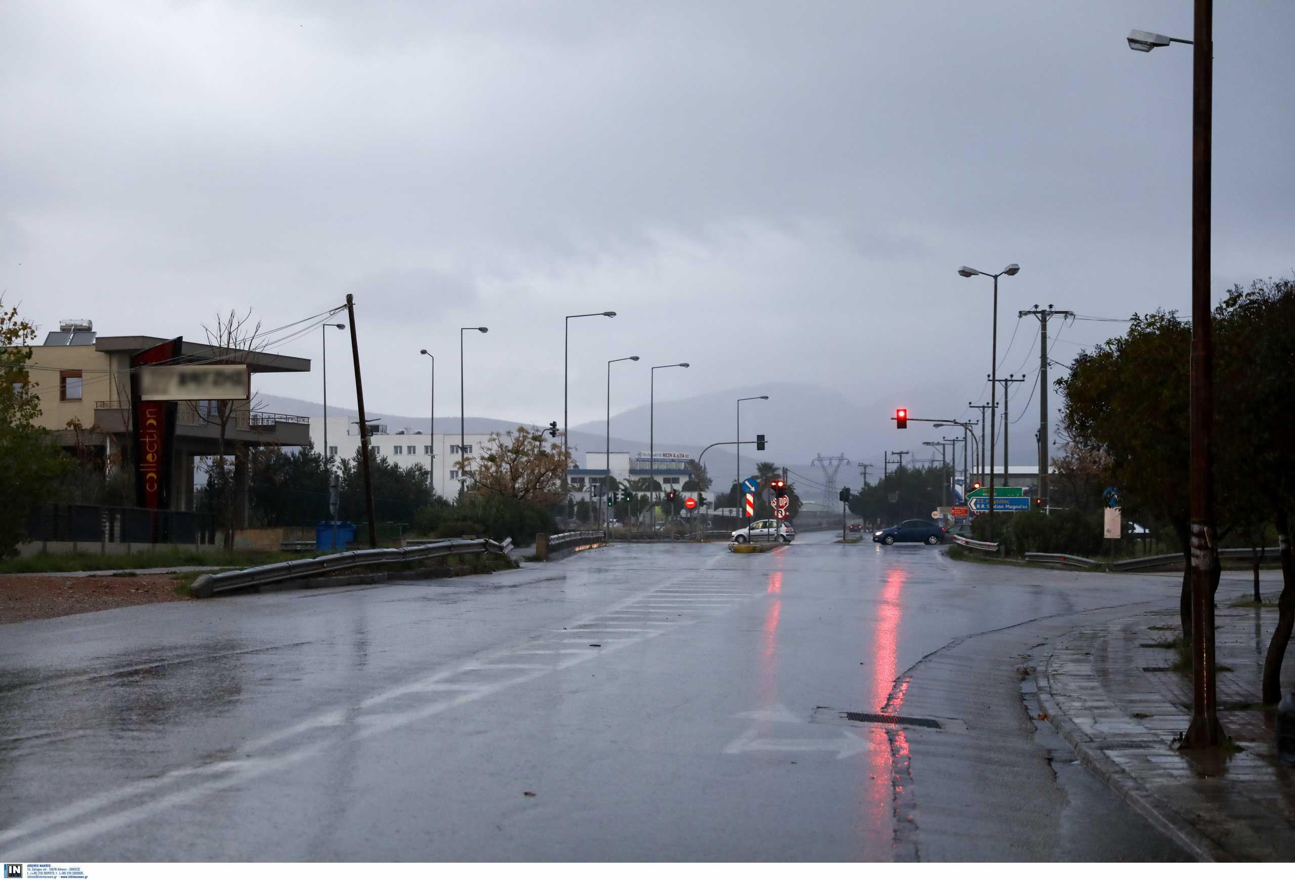 Καιρός αύριο: «Βουρκωμένος» ουρανός με βροχές και καταιγίδες – Αναλυτική πρόγνωση