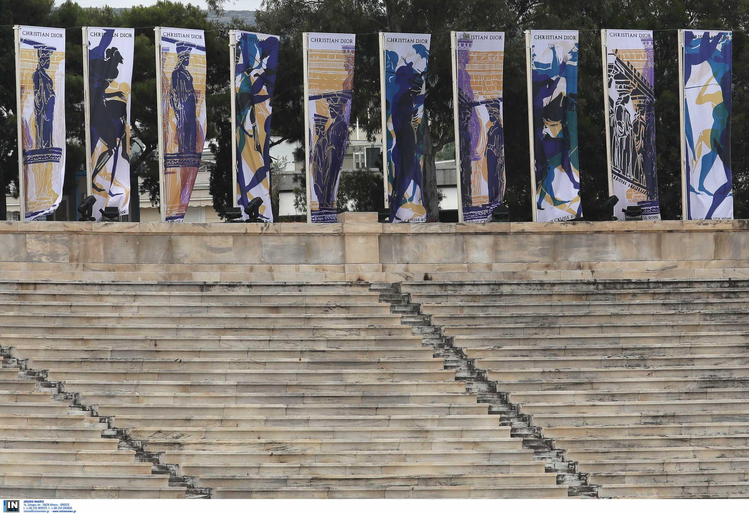 Phos και Kallos στην επίδειξη του Dior στο Καλλιμάρμαρο – Όλα όσα θα γίνουν