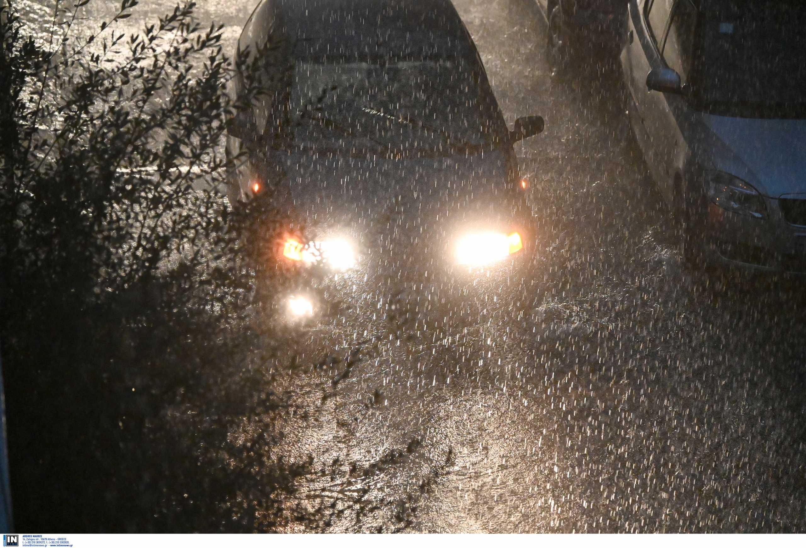 Καιρός meteo: Βροχές και αύριο σε πολλές περιοχές της χώρας