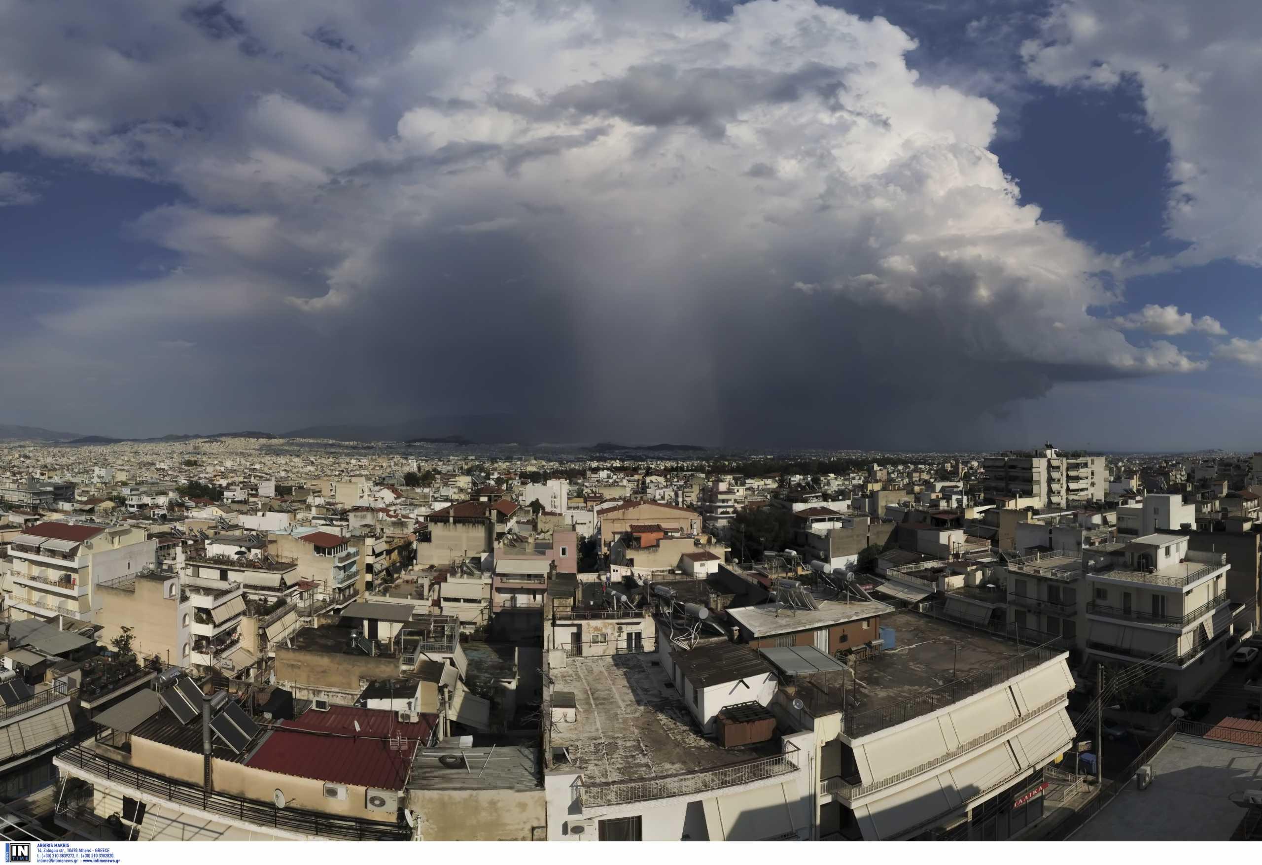 Καιρός – Meteo: Βροχές, καταιγίδες και πτώση της θερμοκρασίας