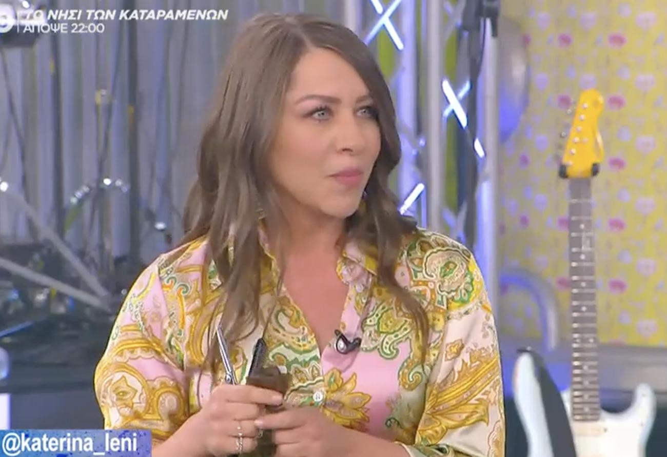 Η Κατερίνα Λένη αποκαλύπτει στον Μουτσινά: «Αρρώστησα έξι μήνες πριν το MasterChef»