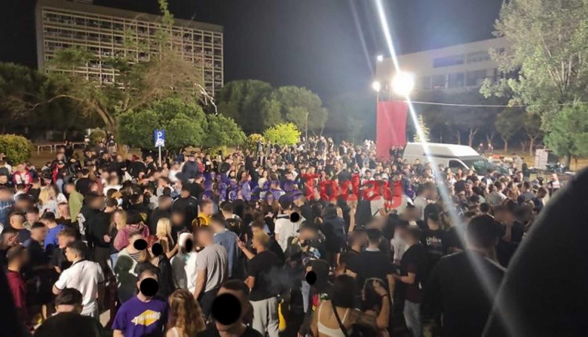 Θεσσαλονίκη: Συλλήψεις για το κορονοπάρτι στο ΑΠΘ