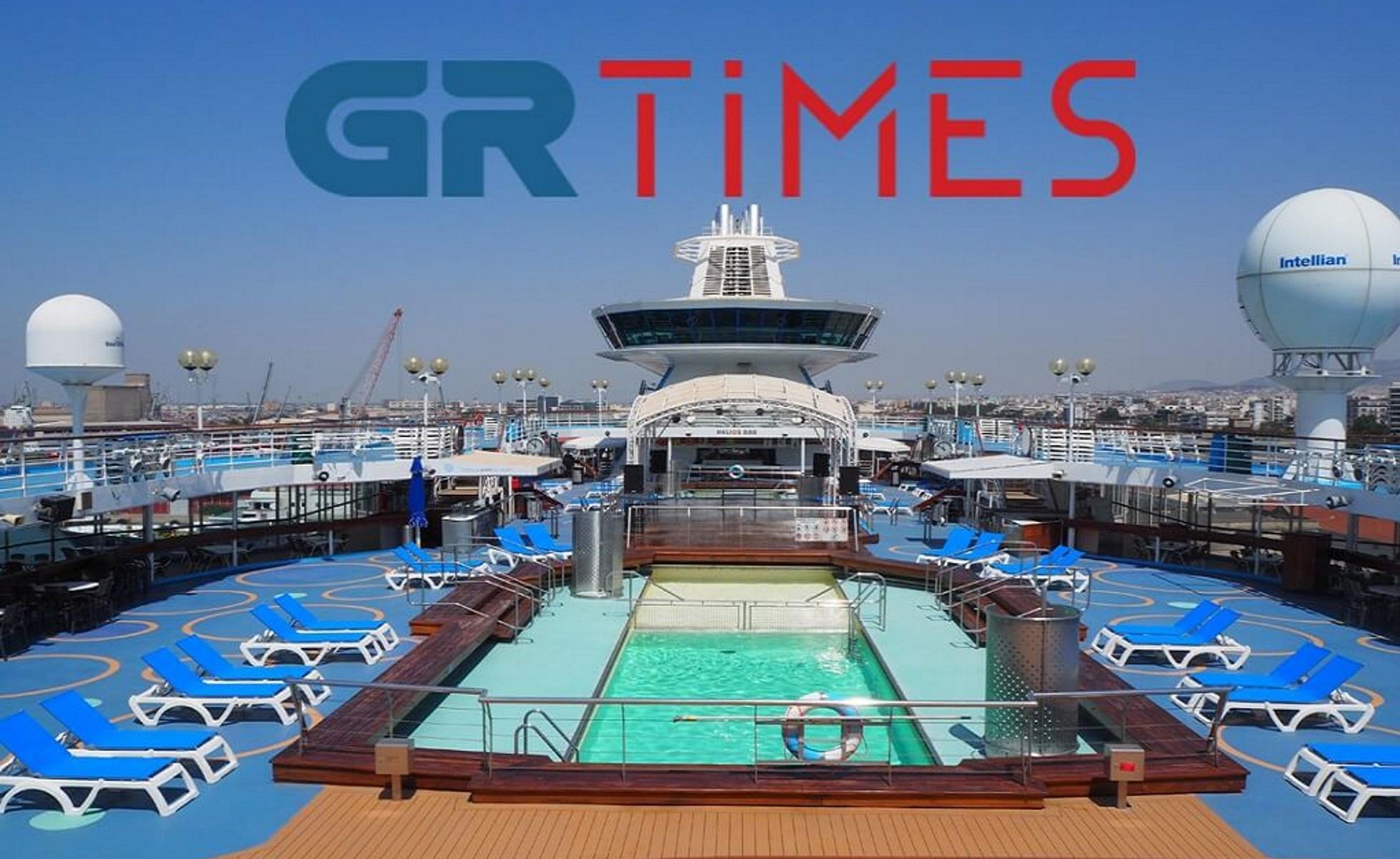Θεσσαλονίκη: Το πολυτελές κρουαζιερόπλοιο που θάμπωσε τους πάντες (pics, vid)