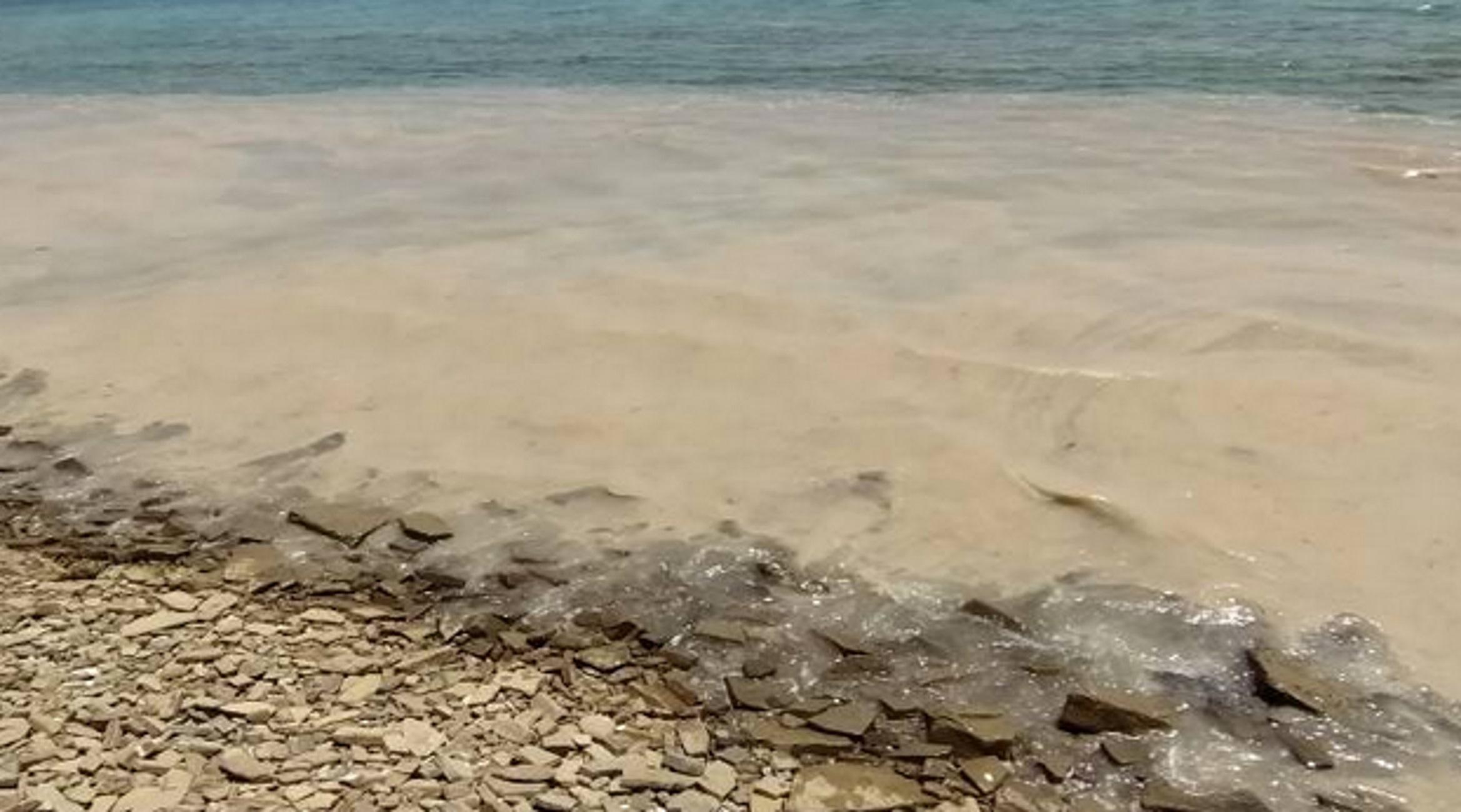 Λήμνος: Η βλέννα του Μαρμαρά έκανε αγνώριστες τις παραλίες του νησιού – Η θάλασσα άλλαξε χρώμα