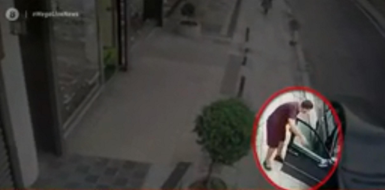 Έτσι κλέβουν τσάντες από αυτοκίνητα – Video ντοκουμέντο