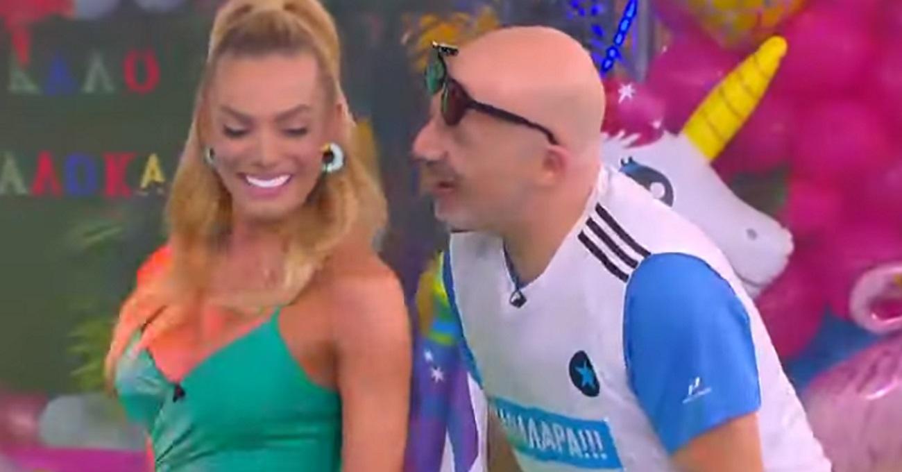 H Ιωάννα Μαλέσκου «ζάλισε» με τον χορό της τον Νίκο Μουτσινά