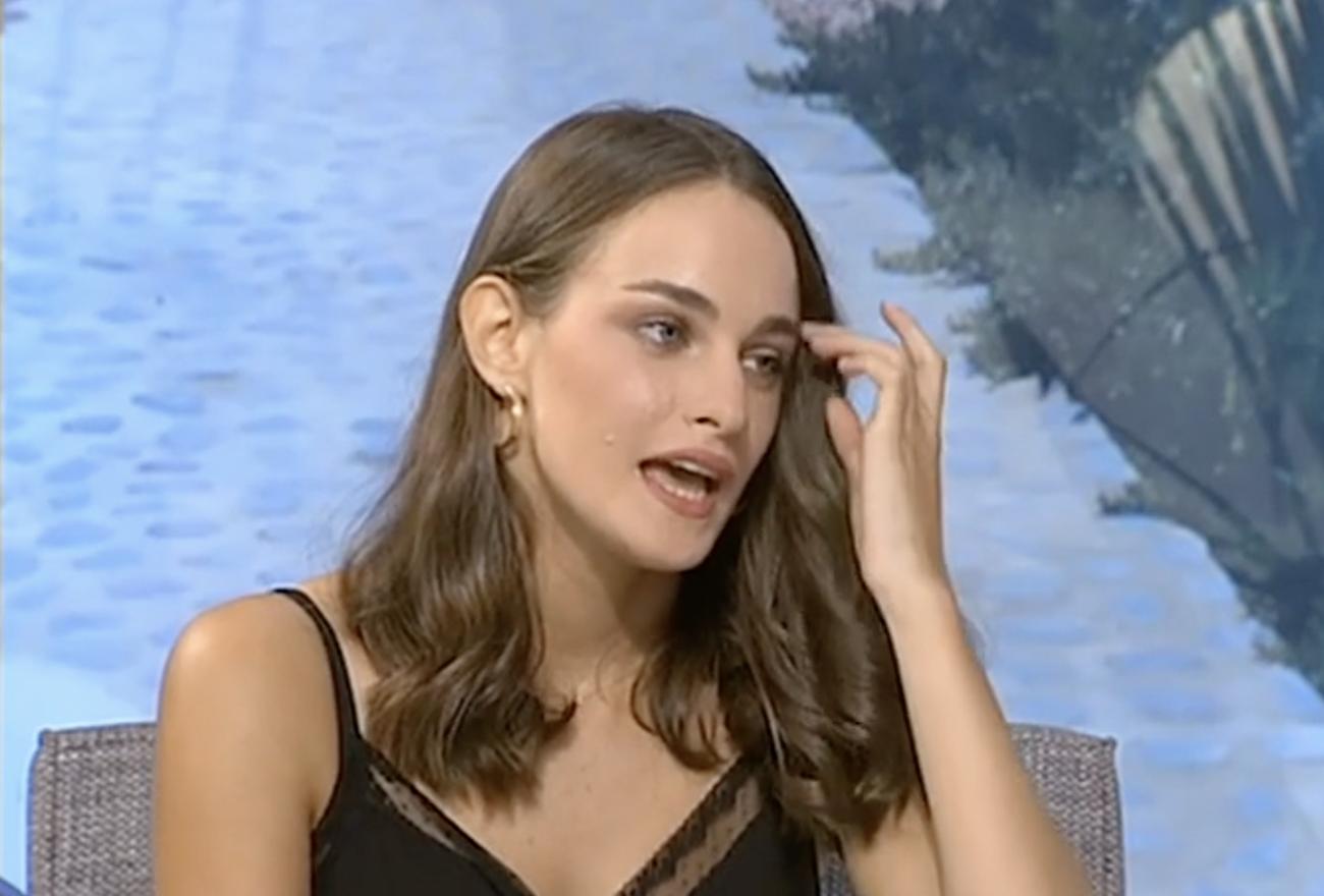 Μαρία Βοσκοπούλου: Ποζάρει με φόντο την παραλία και αναστατώνει